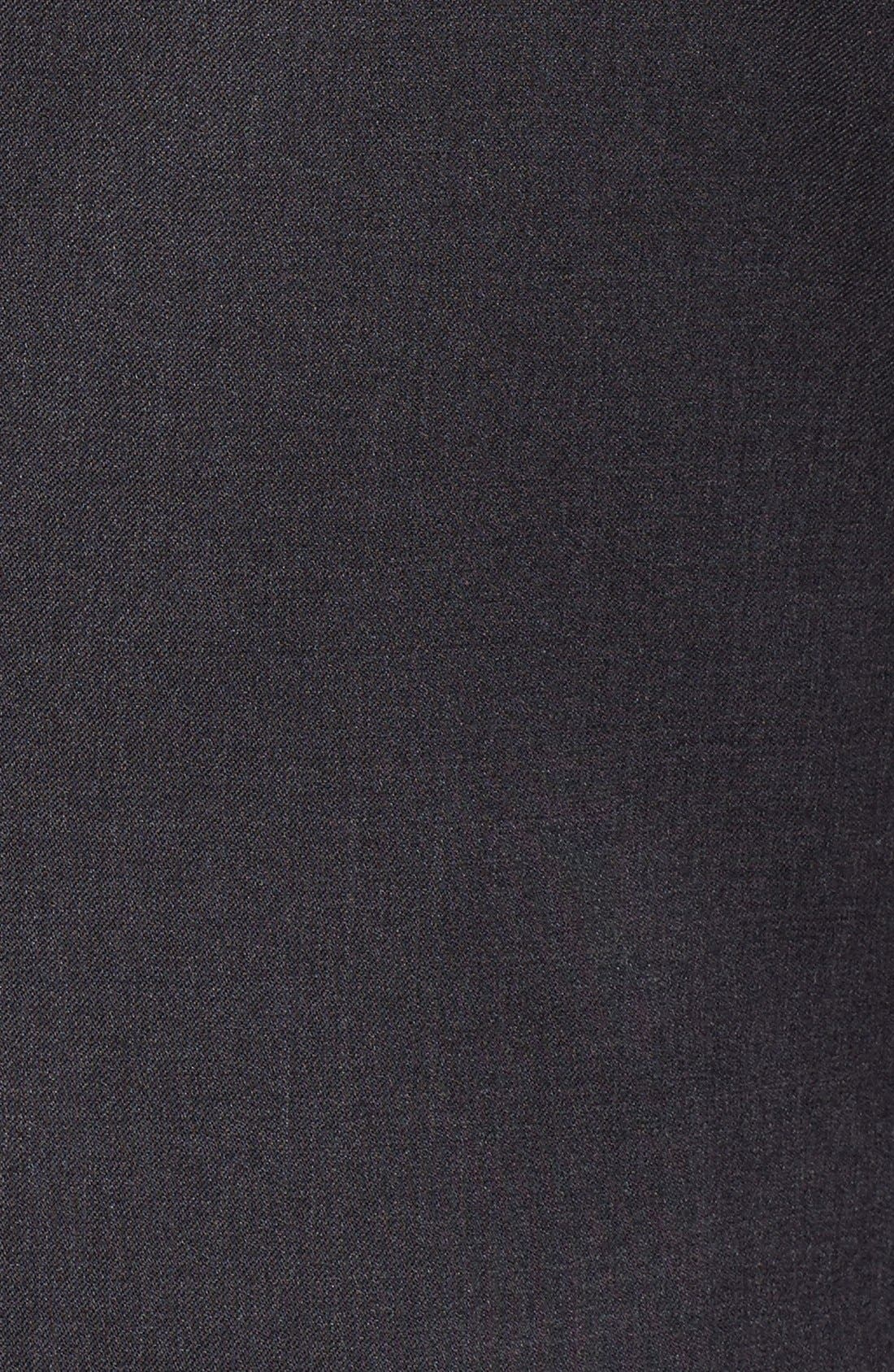 Alternate Image 6  - BOSS 'Ryan/Win' Extra Trim Fit Solid Wool Suit