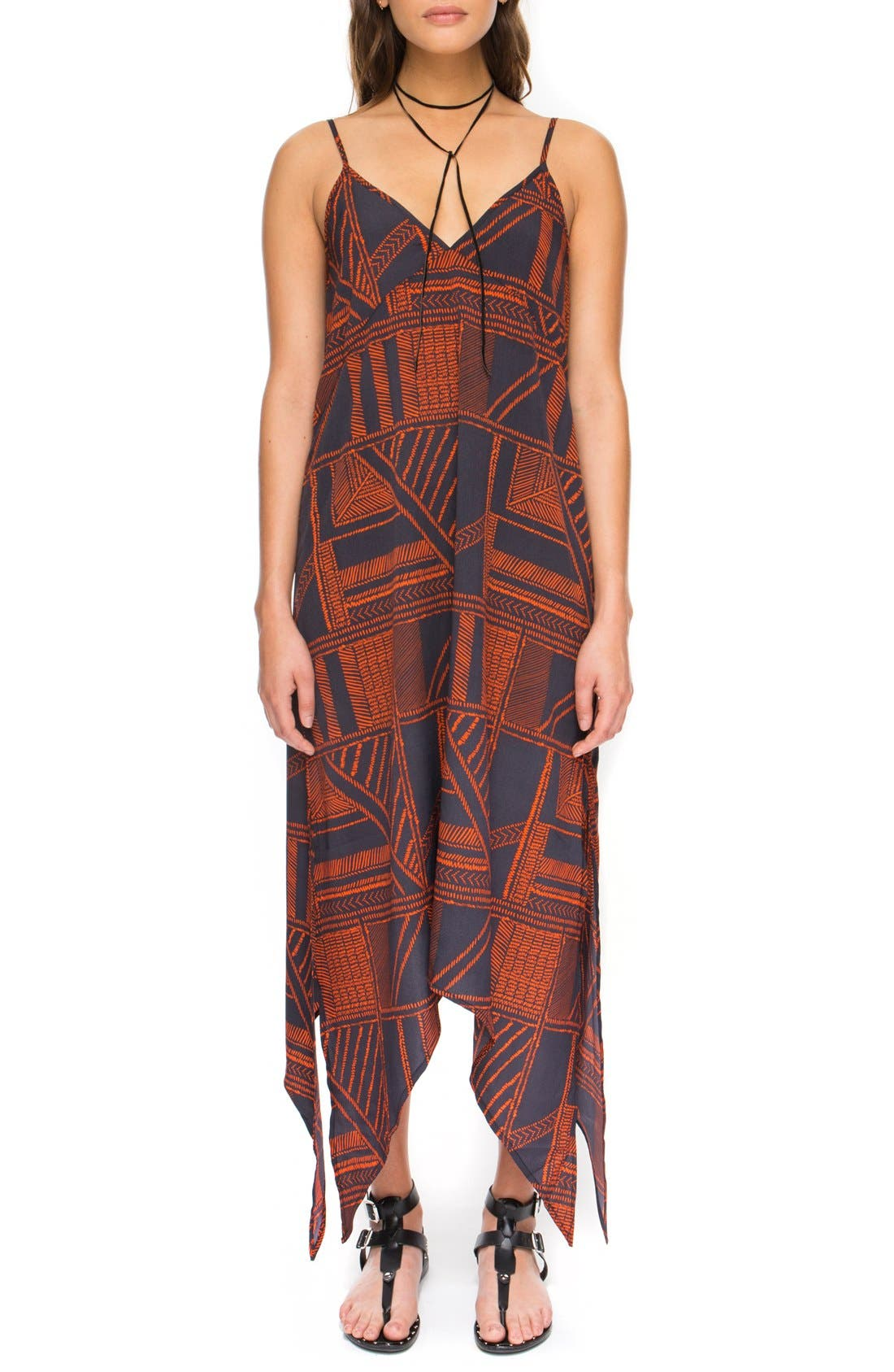 Alternate Image 1 Selected - The Fifth Label 'Lost Paradise' Print Maxi Dress