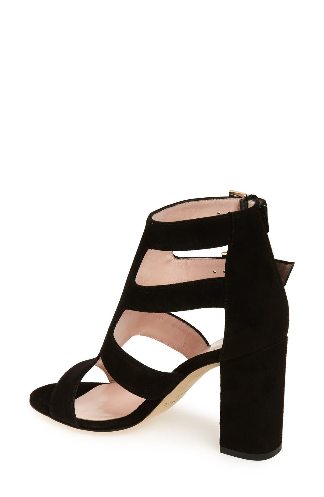 Alternate Image 2  - kate spade new york 'ilemi' block heel sandal (Women)