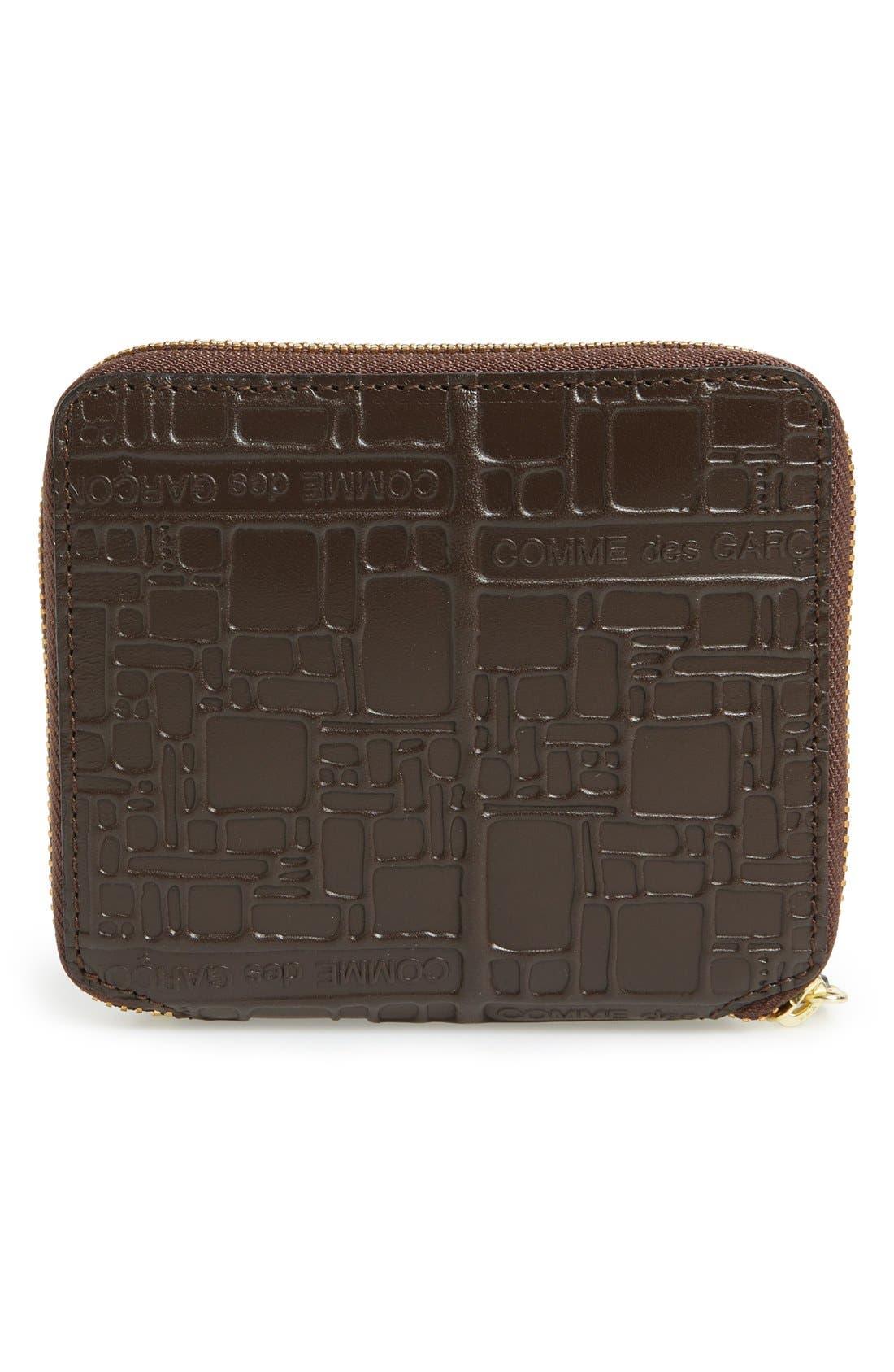 Alternate Image 2  - Comme de Garçons Embossed French Wallet