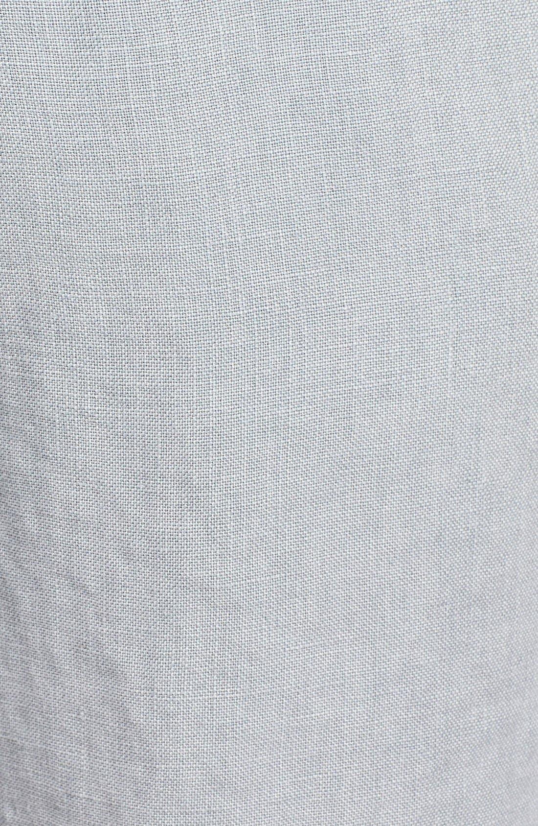 Alternate Image 5  - Original Paperbacks 'Havana' Linen Shorts