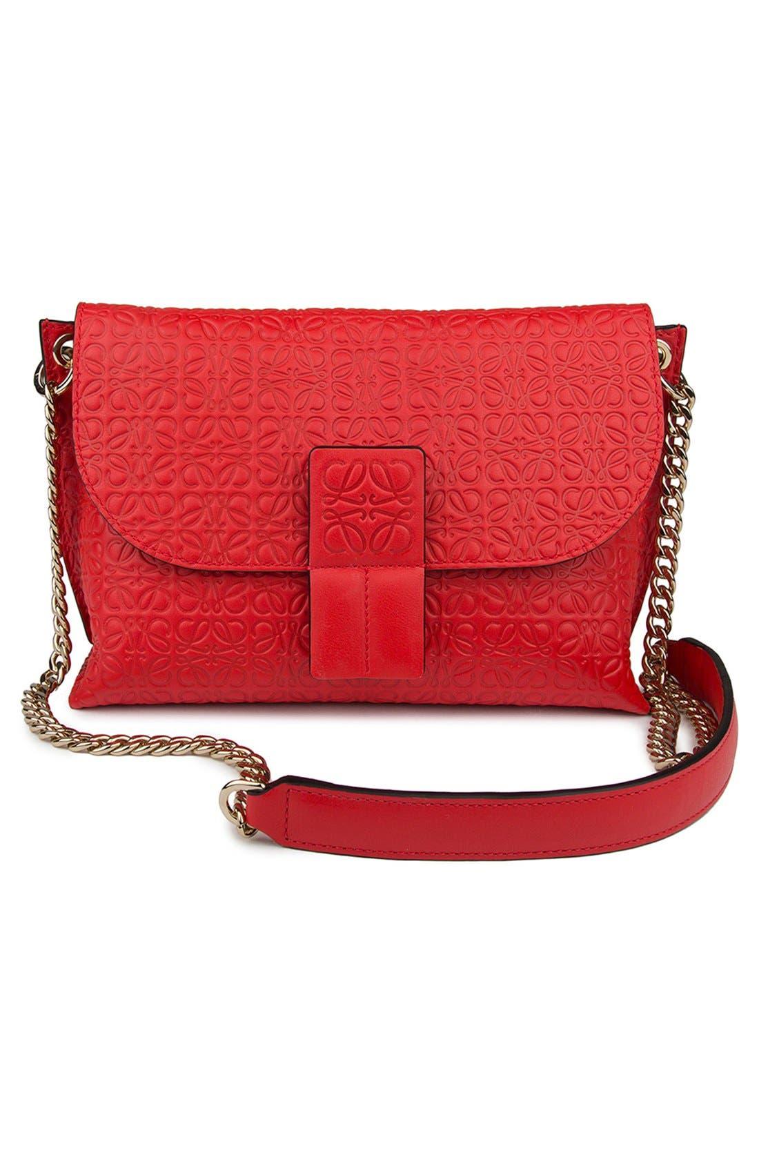 Alternate Image 5  - Loewe 'Avenue' Embossed Calfskin Leather Crossbody Bag