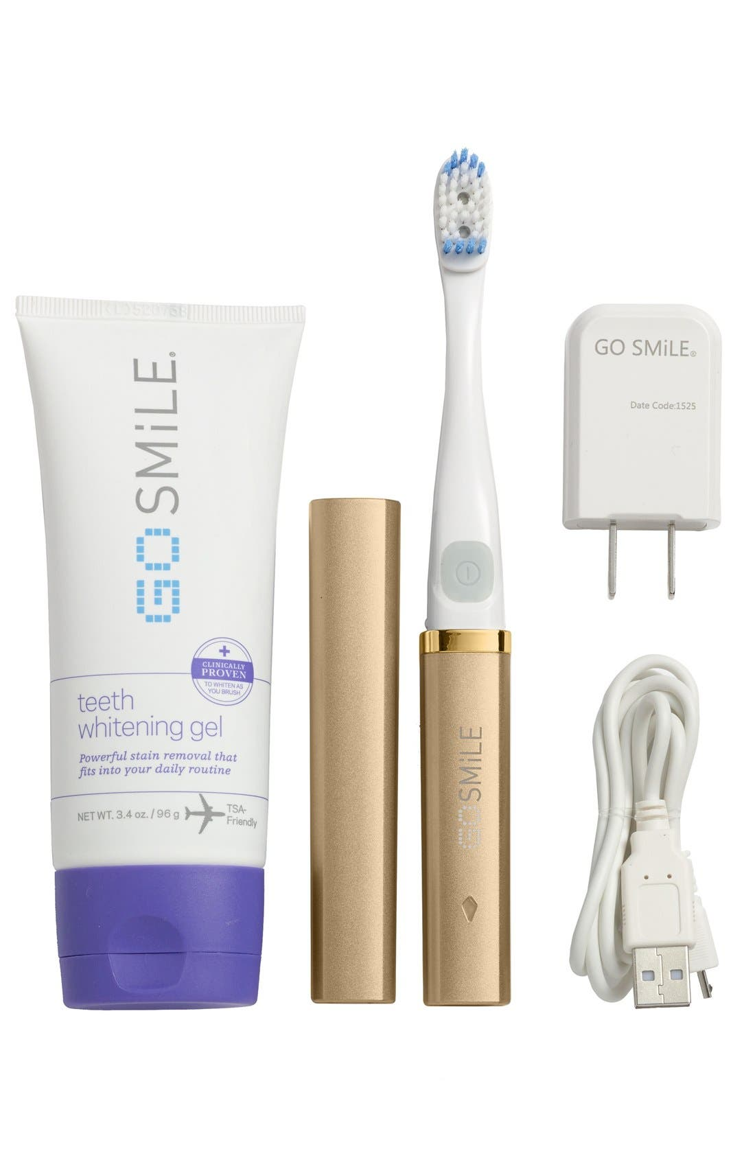 GO SMiLE® 'Dental Pro On-the-Go - Sonic Blue' Teeth Whitening System