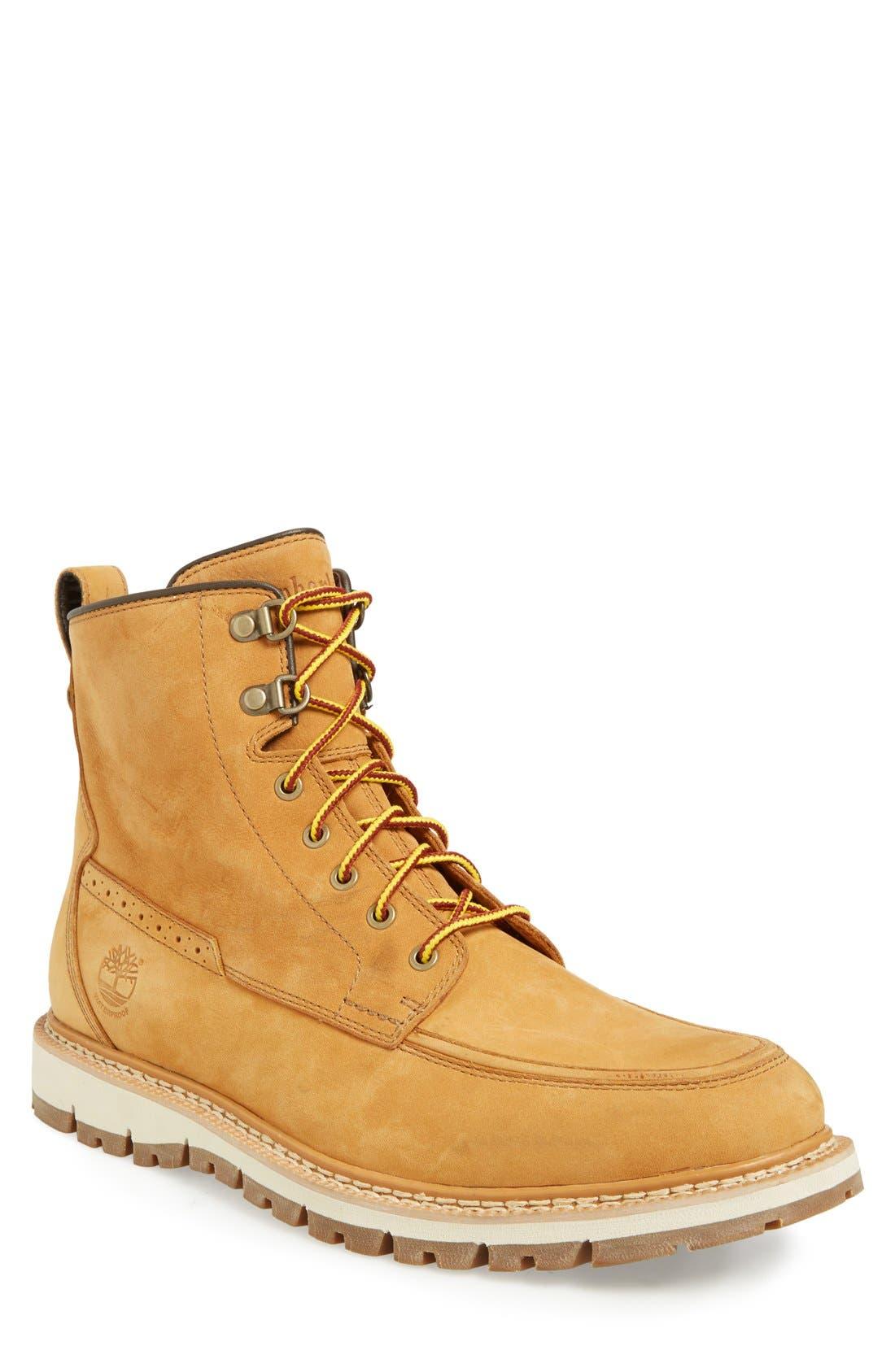 Main Image - Timberland 'Britton Hill' Moc Toe Boot (Men)