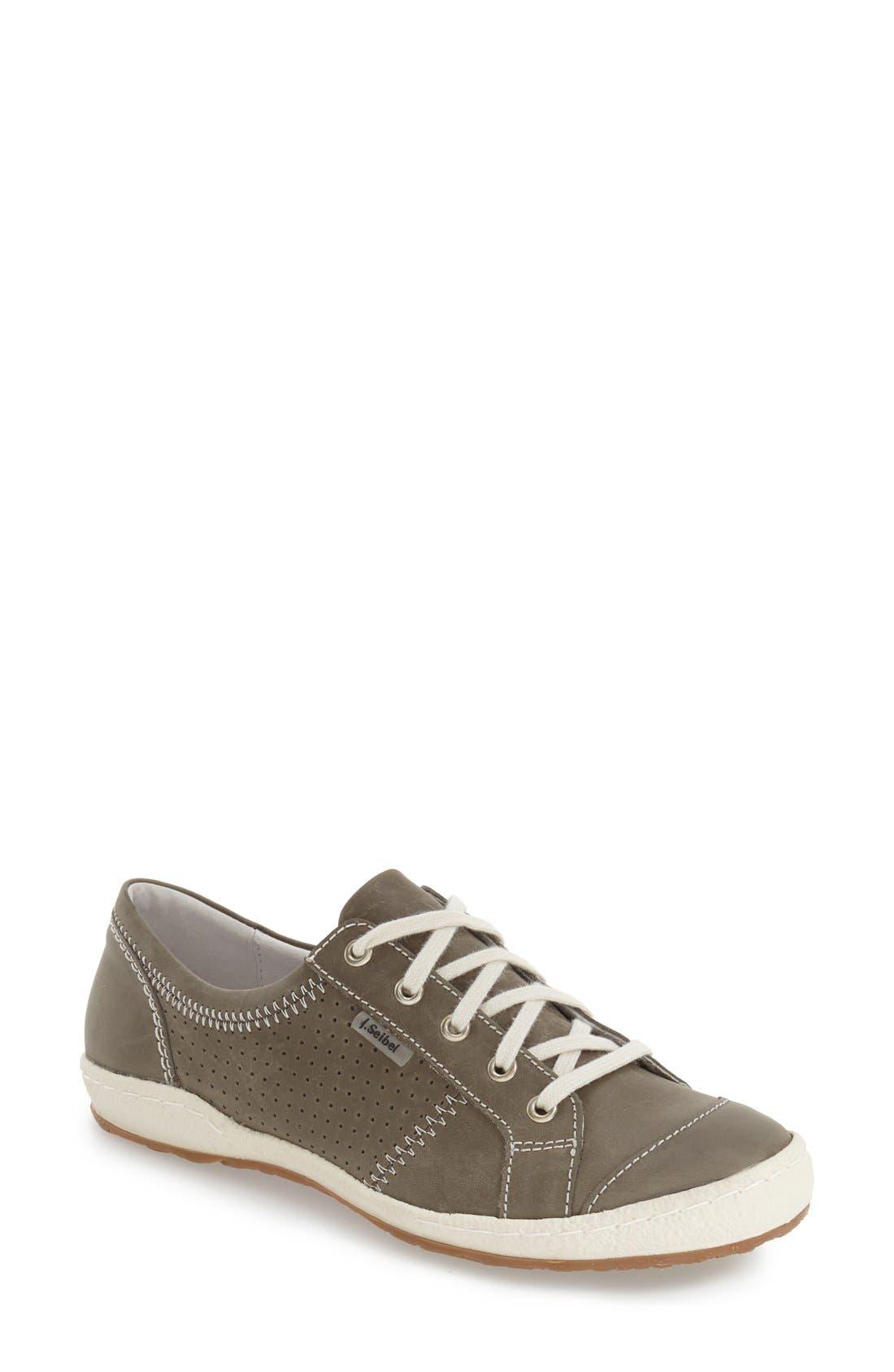 'Caspian' Sneaker,                         Main,                         color, Grigio Leather