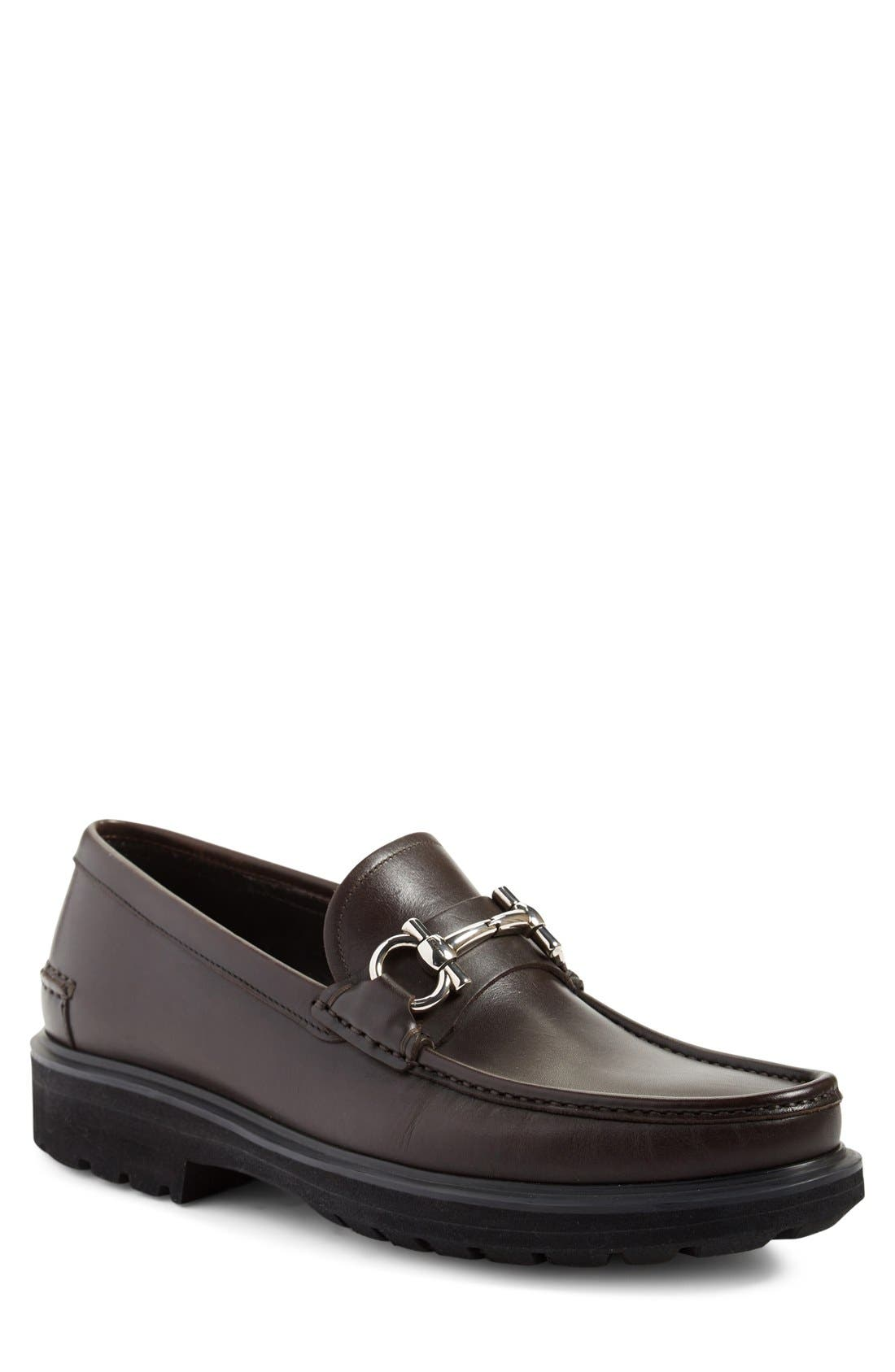 Glasgow Bit Loafer,                             Main thumbnail 1, color,                             Hickory