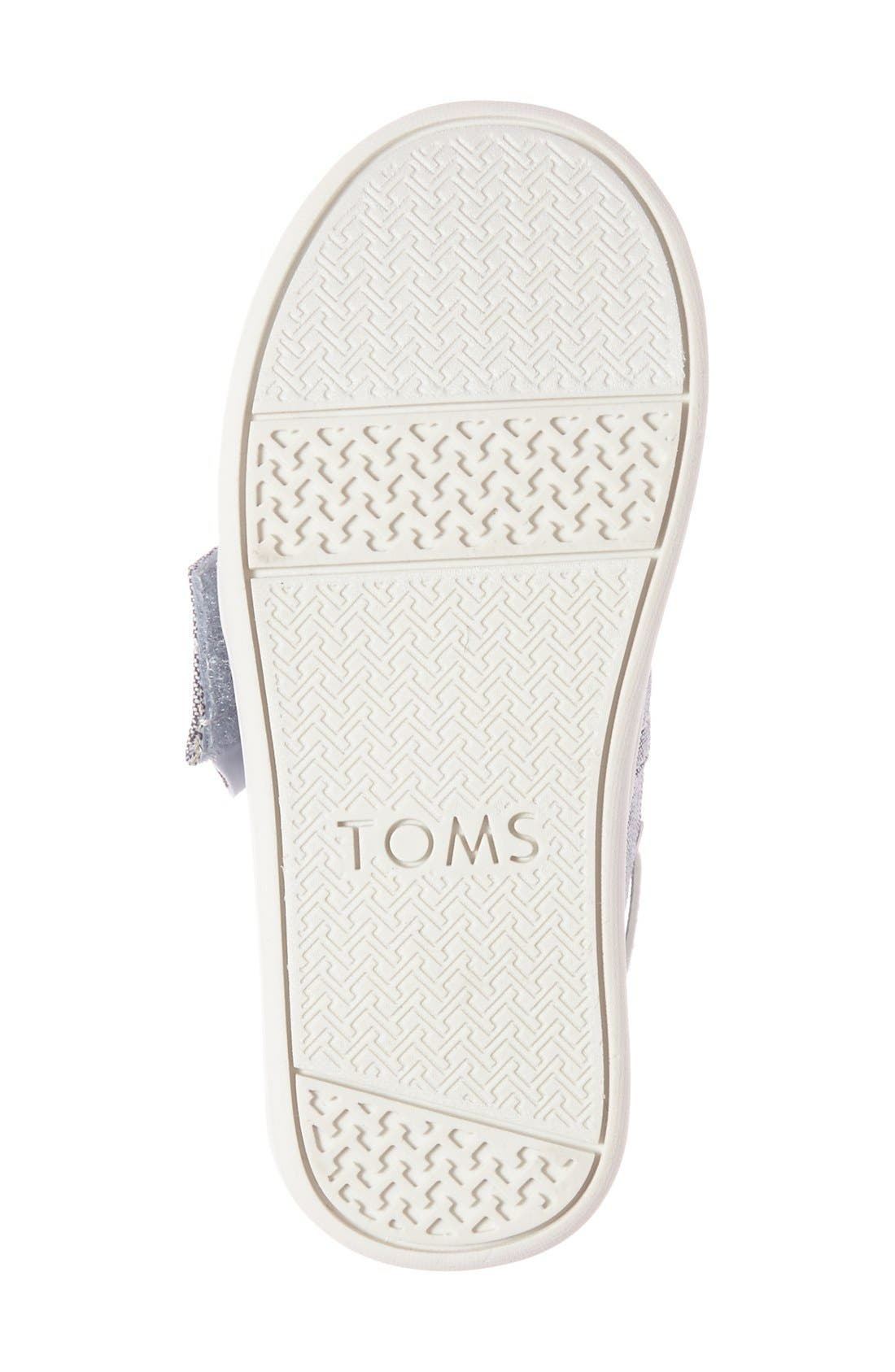 Alternate Image 2  - TOMS 'Bimini - Tiny' Slip-On (Walker & Toddler)