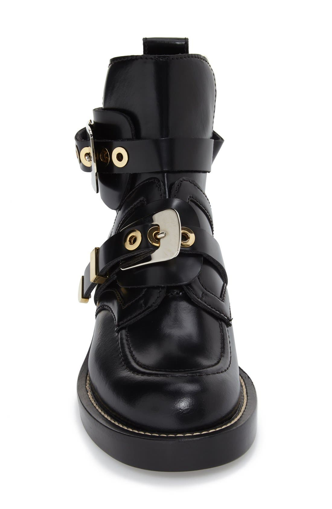Alternate Image 4  - Balenciaga Cutout Buckle Boot (Women)