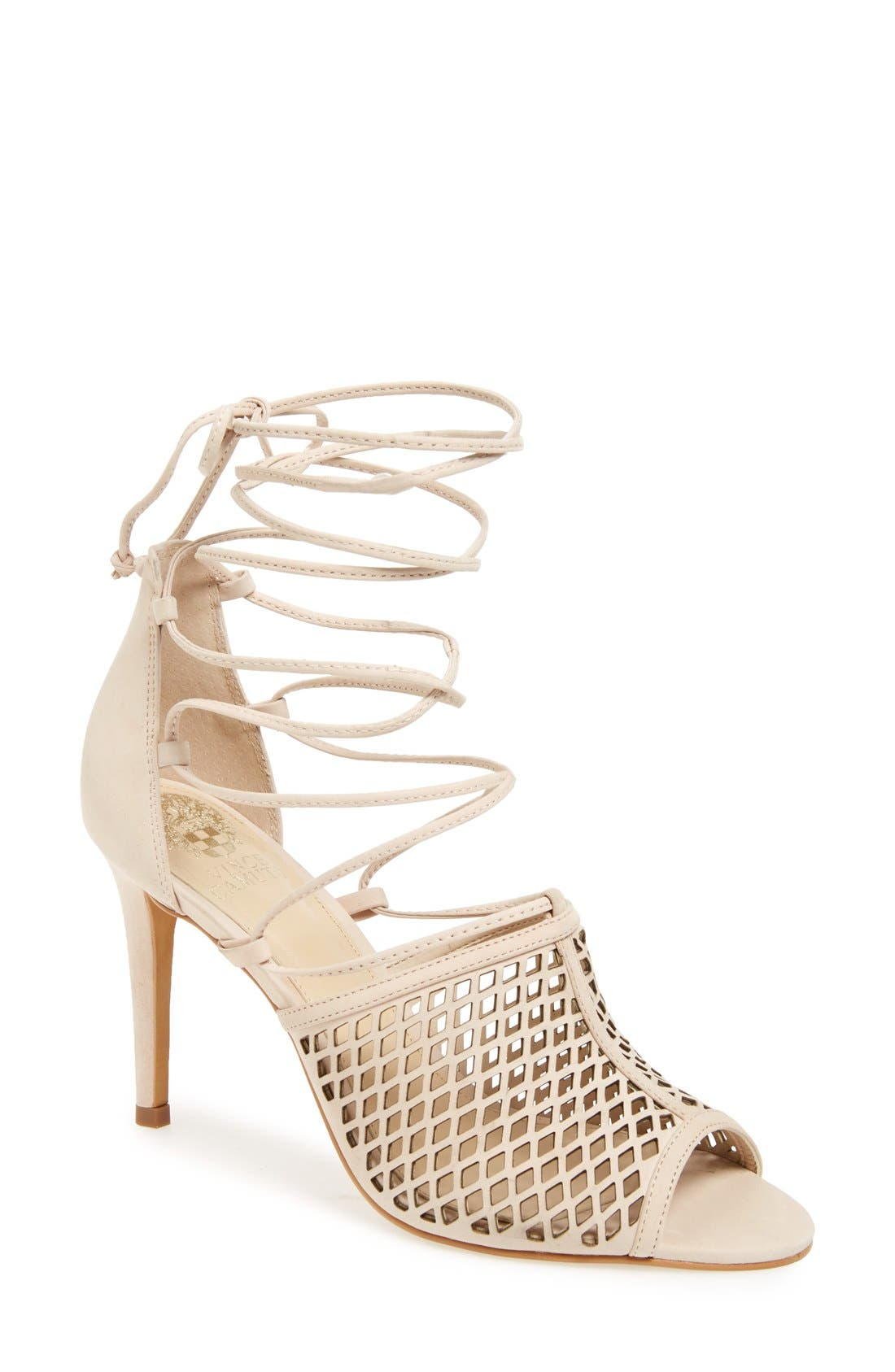 Alternate Image 1 Selected - Vince Camuto 'Vasha' Lace-Up Sandal (Women) (Nordstrom Exclusive)