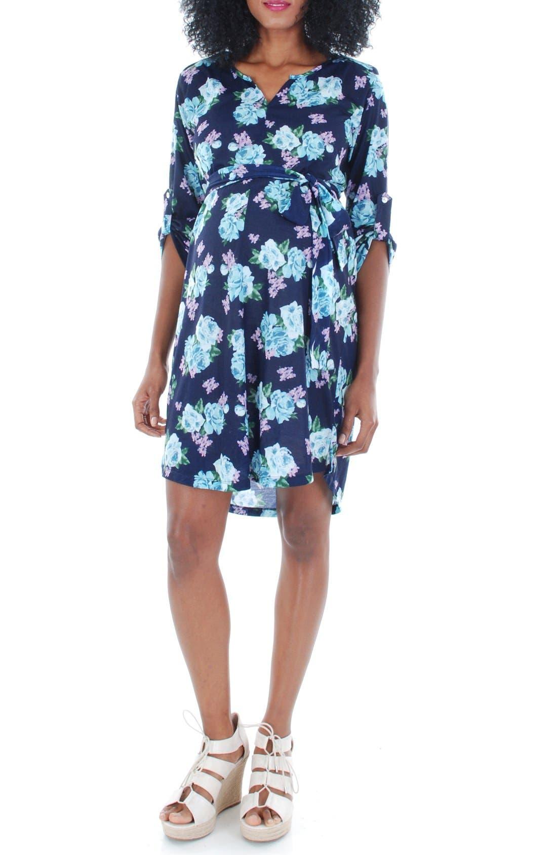Everly Grey 'Hudson' Maternity Dress