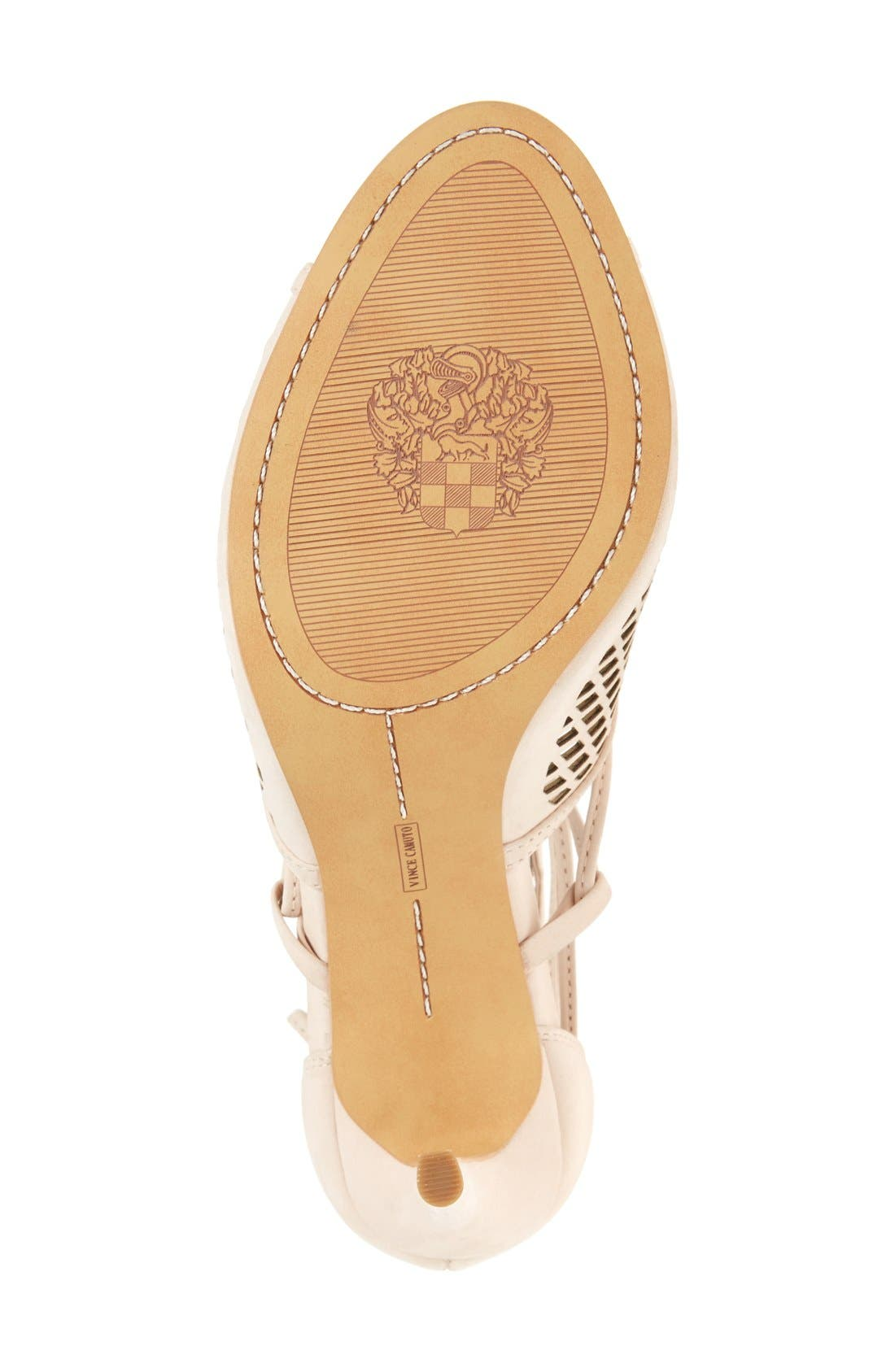Alternate Image 4  - Vince Camuto 'Vasha' Lace-Up Sandal (Women) (Nordstrom Exclusive)