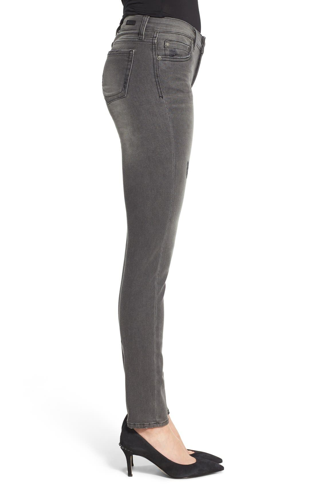 Alternate Image 3  - KUT from the Kloth 'Diana' Stretch Skinny Jeans (Continuity) (Regular & Petite)