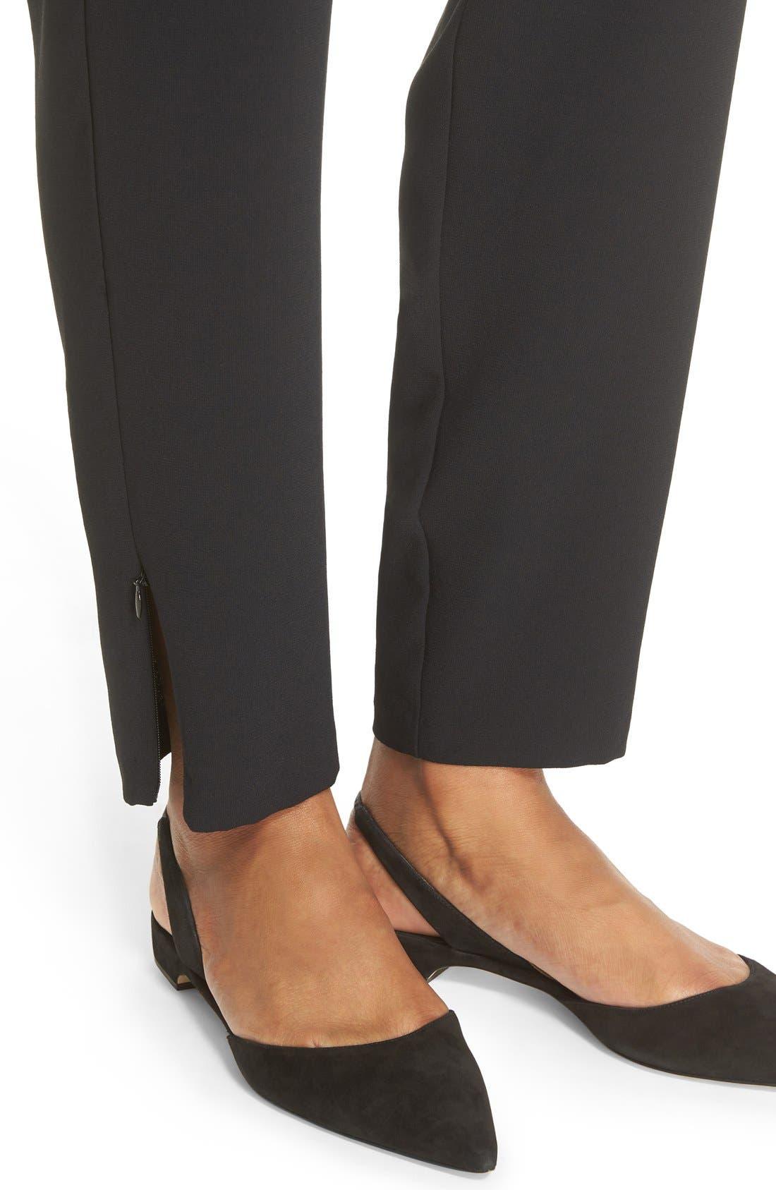 Alternate Image 4  - Joie 'Janeene' Zip Ankle Drawstring Pants