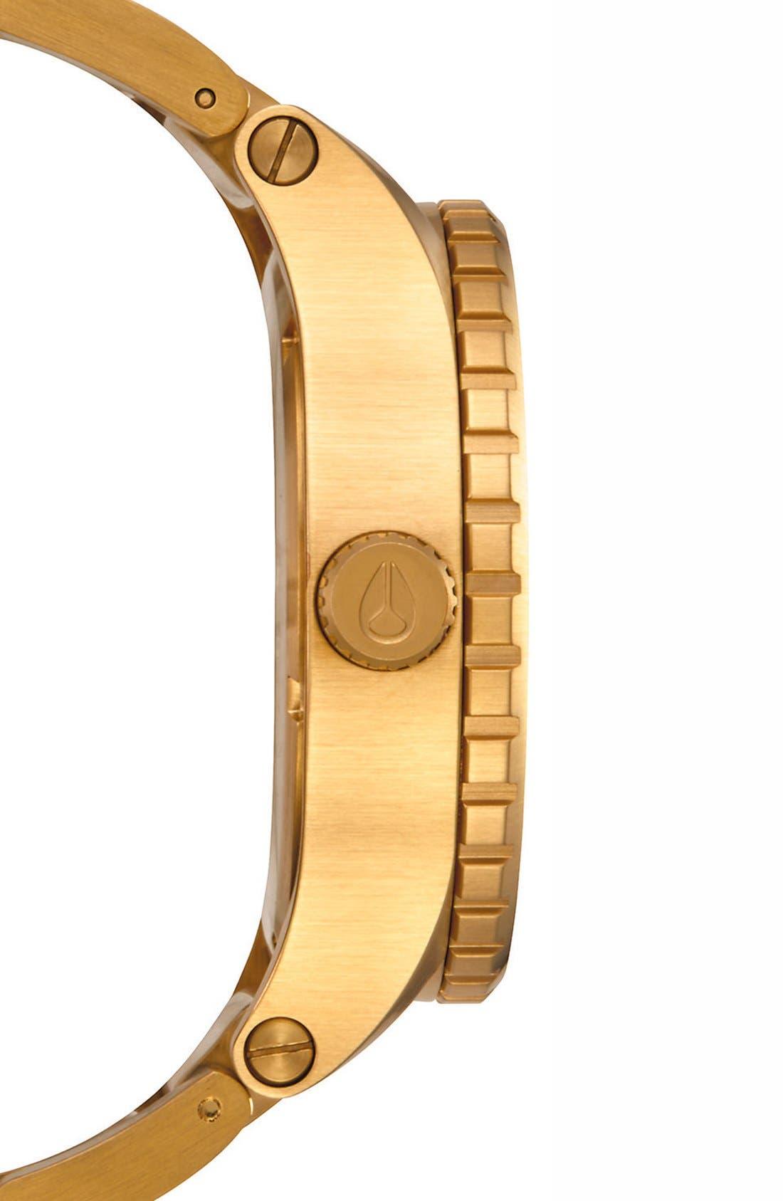 Alternate Image 3  - Nixon Bracelet Watch, 46mm