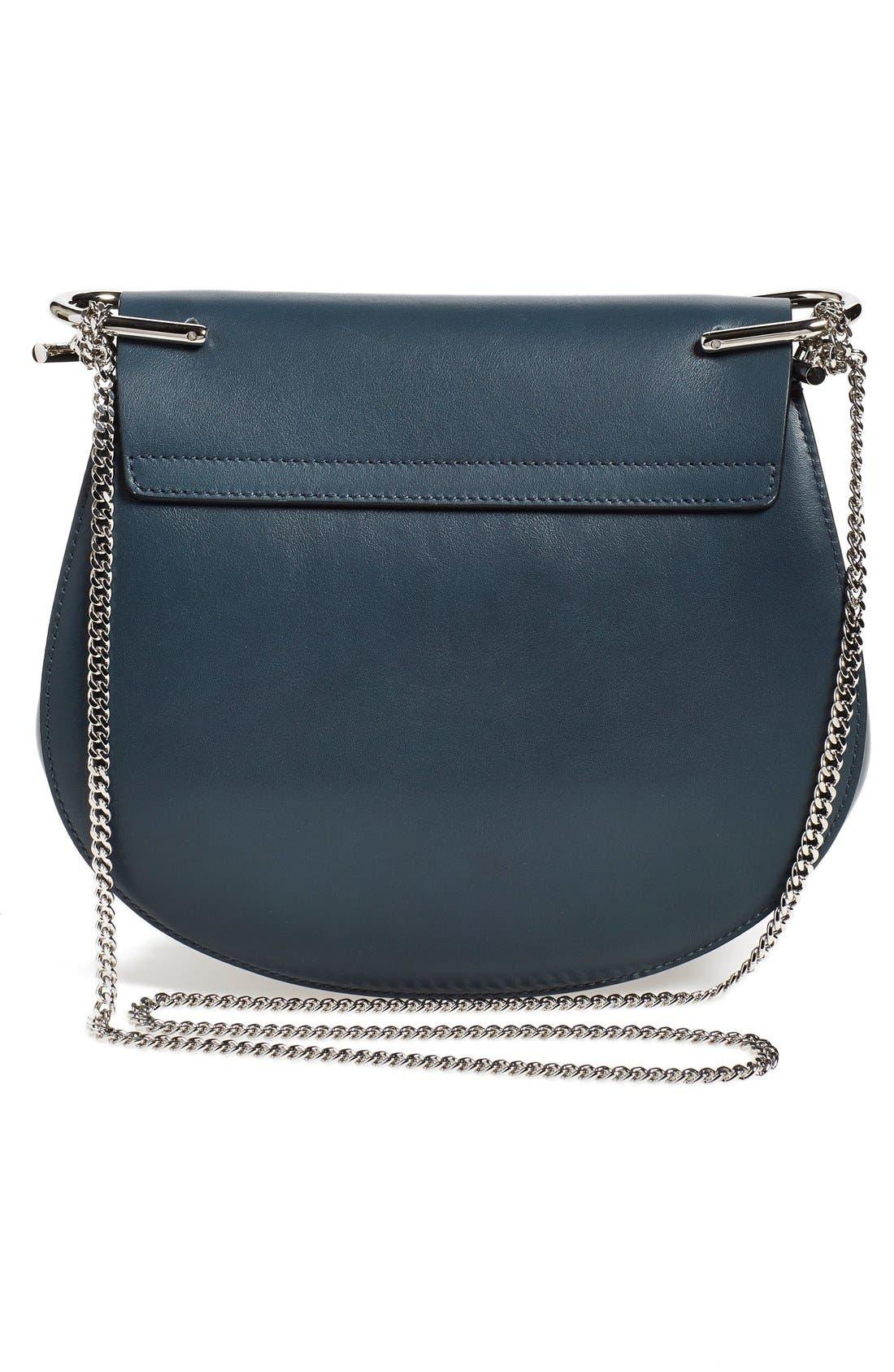 Alternate Image 2  - Chloé Small Drew Leather & Suede Shoulder Bag