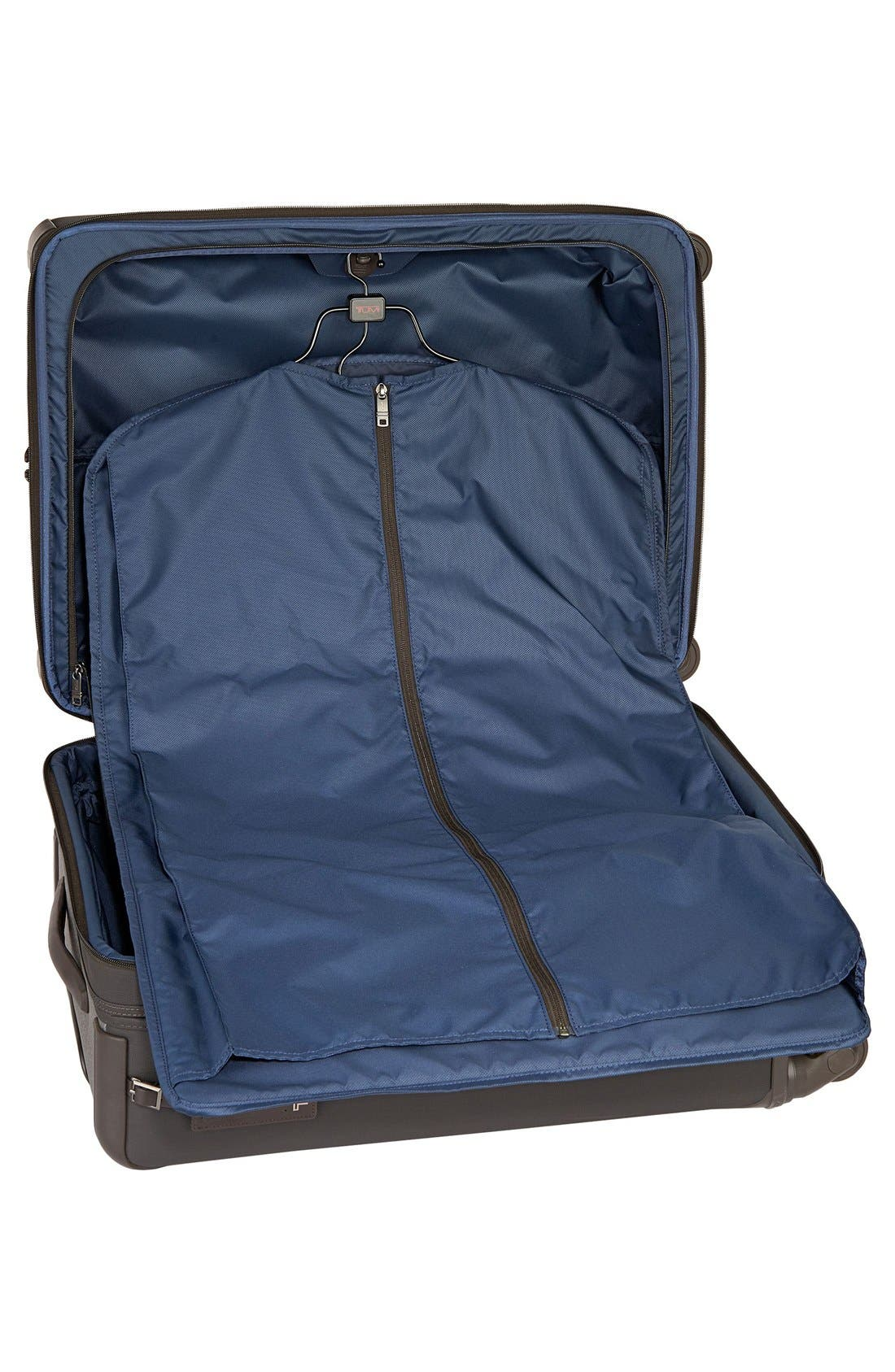 Alpha 2 Short Trip 26-Inch Rolling Four Wheel Packing Case,                             Alternate thumbnail 4, color,                             Earl Grey