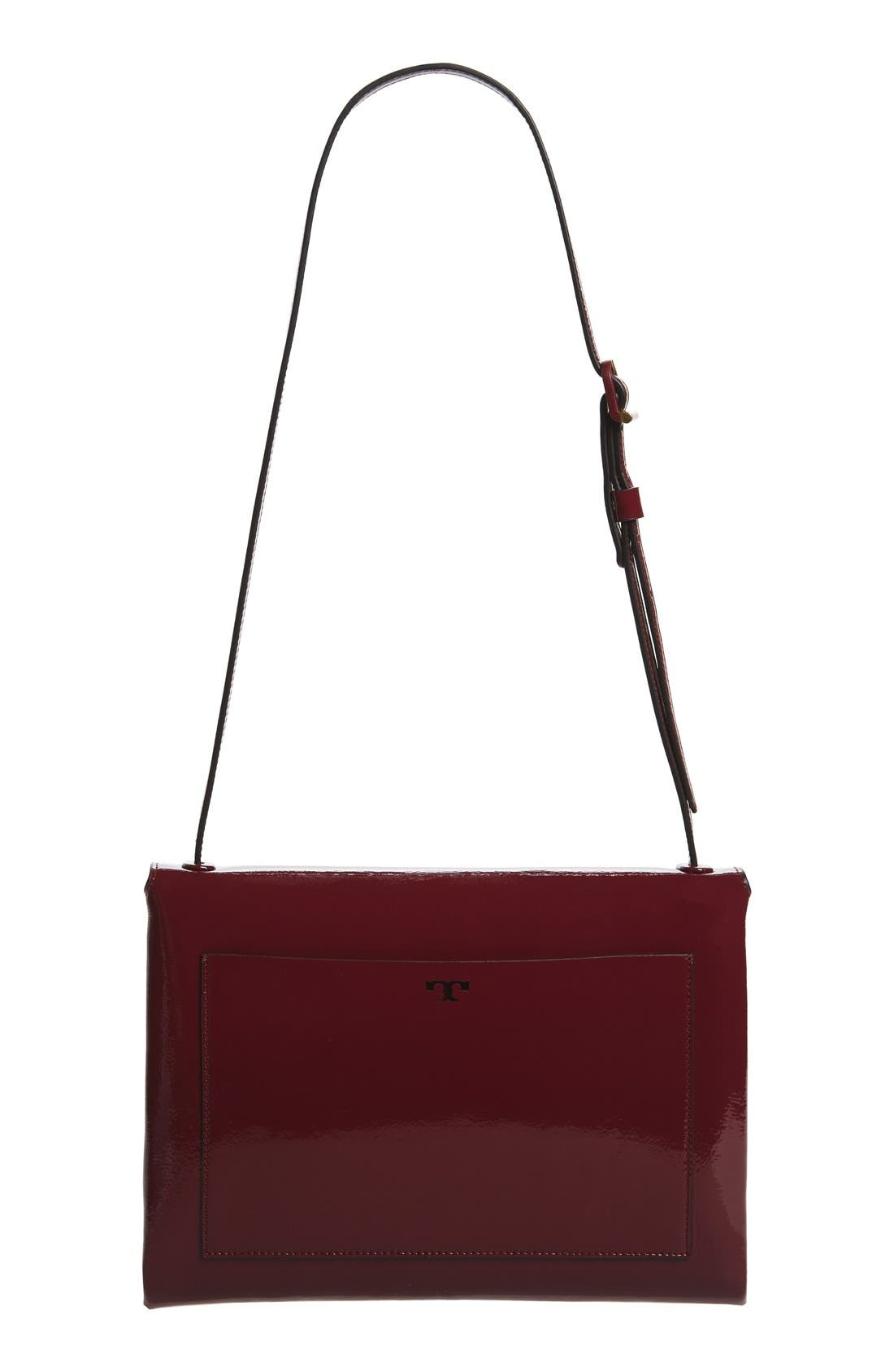 Alternate Image 3  - Tory Burch Patent Leather Convertible Shoulder Bag
