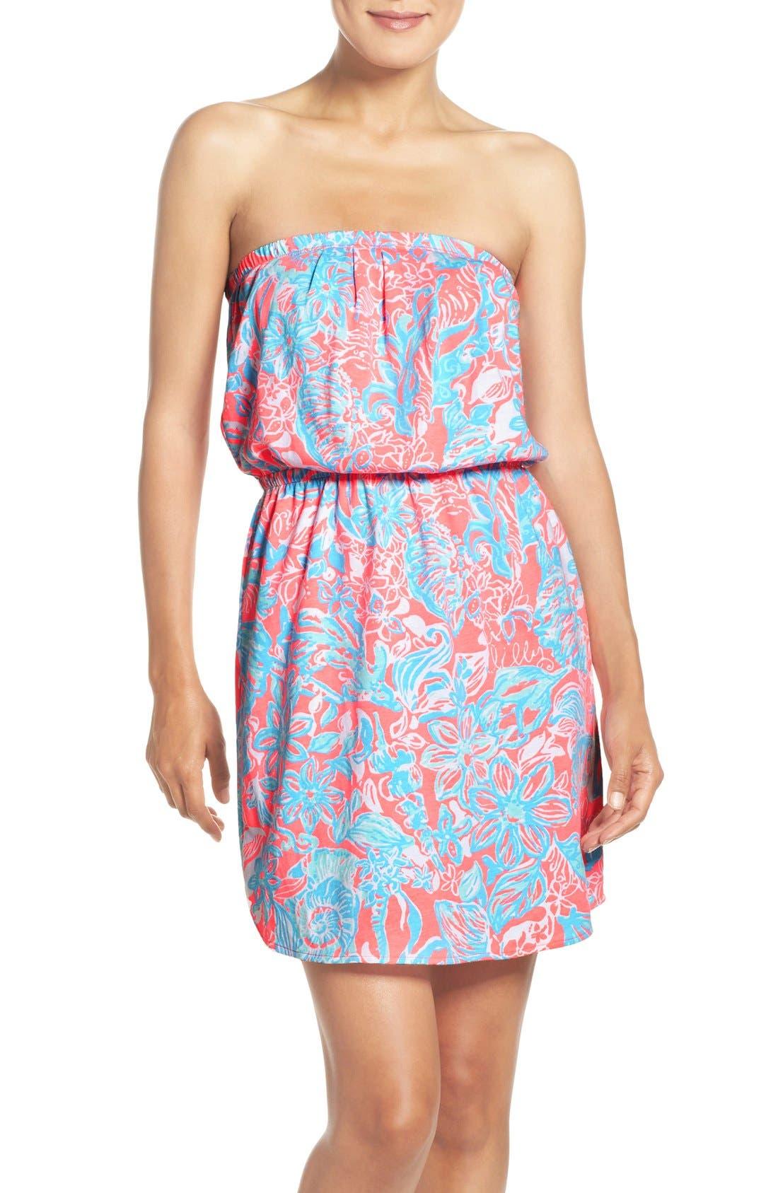 Alternate Image 1 Selected - Lilly Pulitzer® 'Windsor' Pima Cotton Blouson Dress