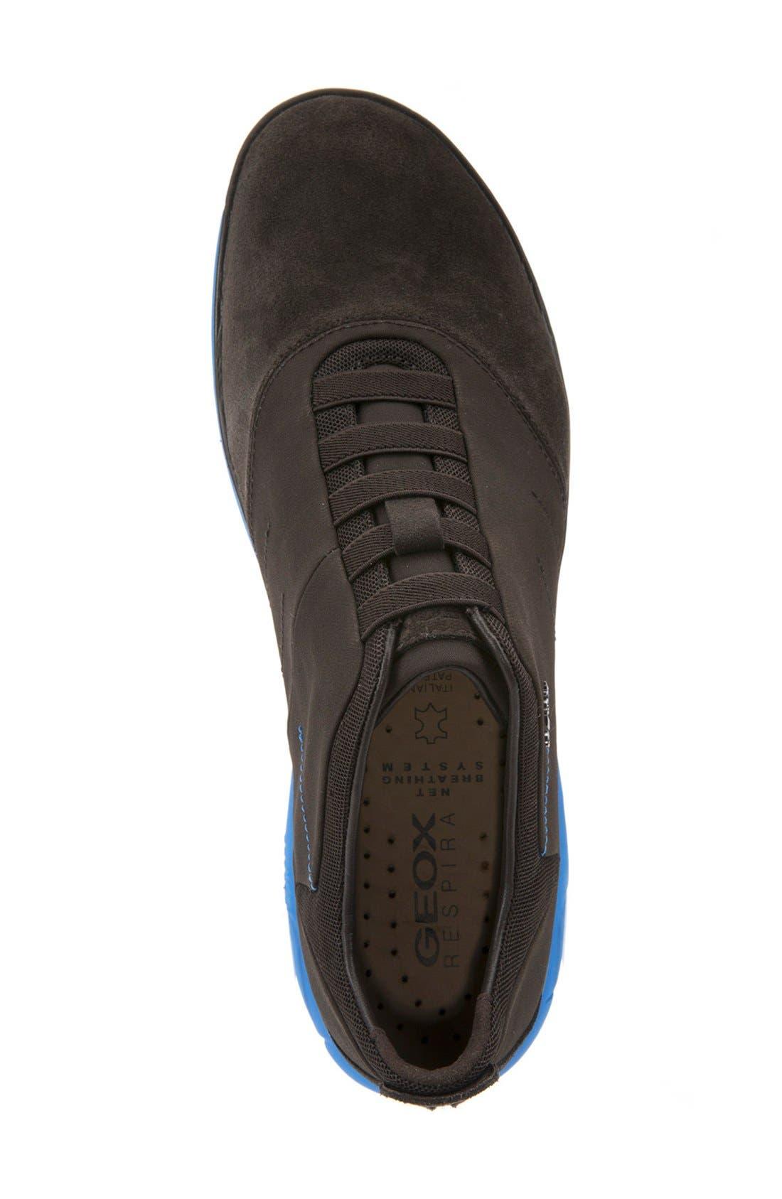 Alternate Image 3  - Geox 'Nebula 24' Slip-On Sneaker (Men)