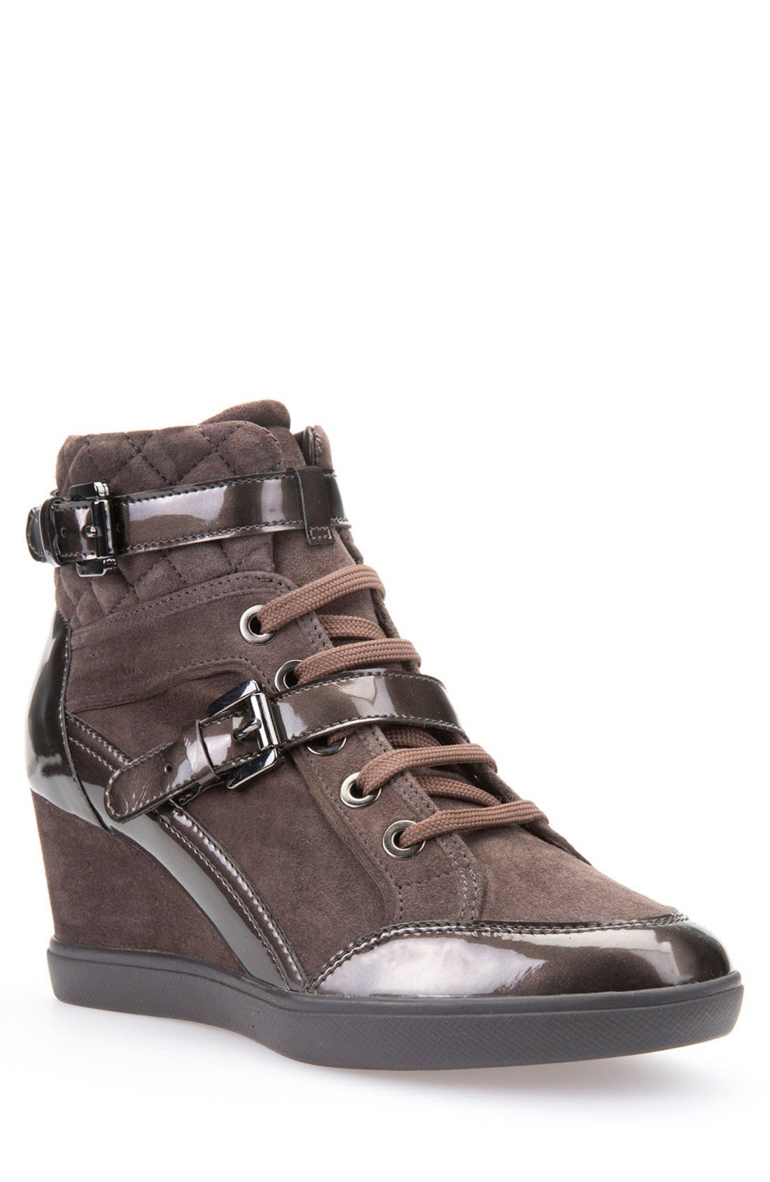 Geox 'Eleni' Wedge Sneaker (Women)