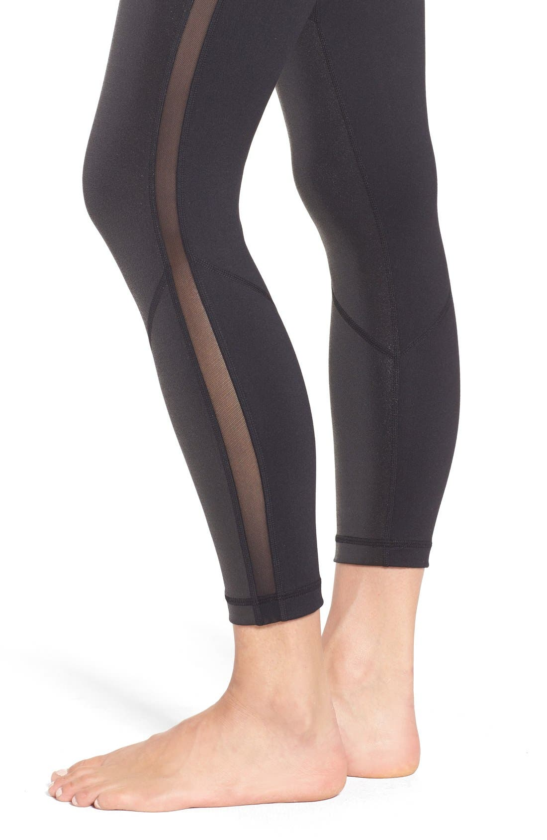 Alternate Image 4  - Zella 'Mindful' High Waist Midi Crop Leggings