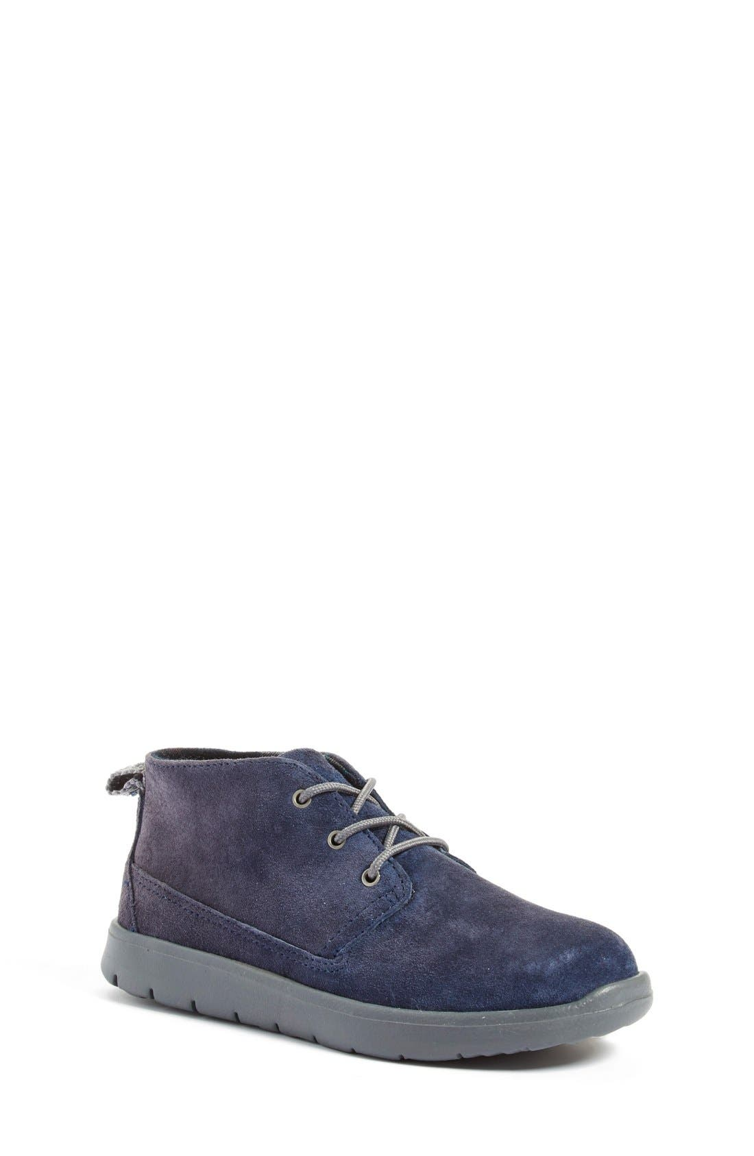 Alternate Image 1 Selected - UGG® Canoe Chukka Sneaker (Toddler, Little Kid & Big Kid)