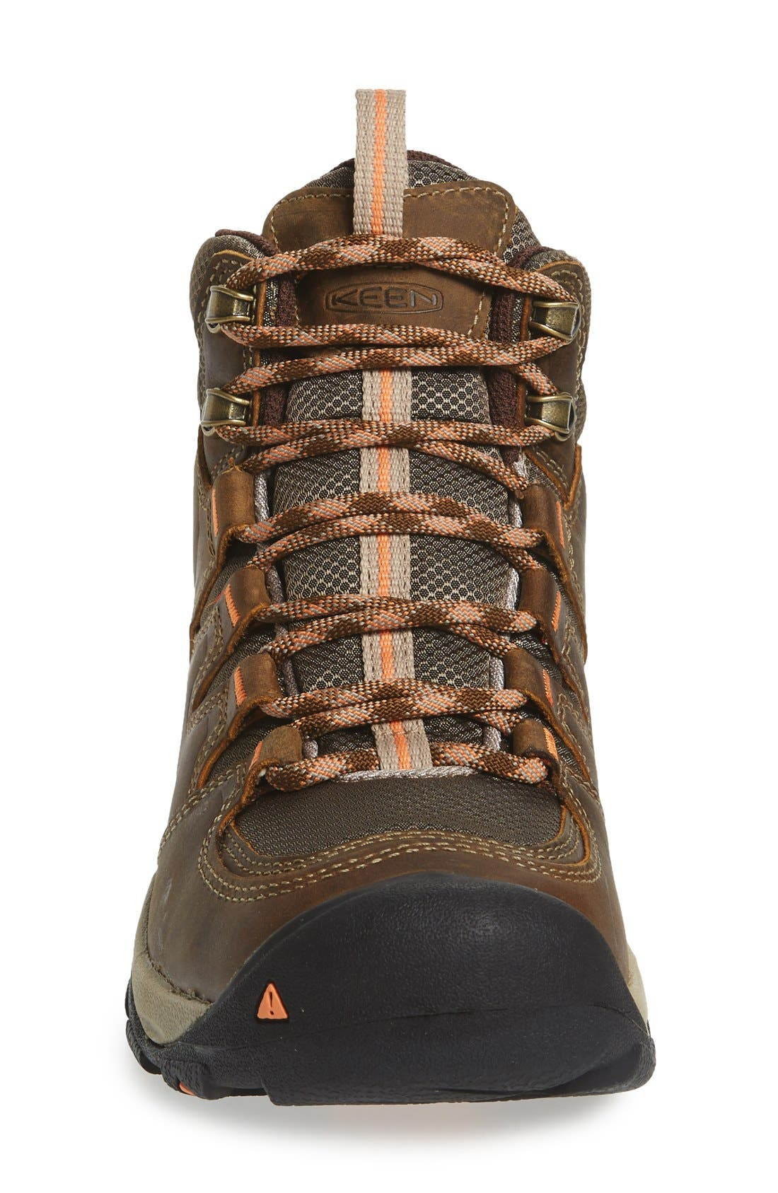 Gypsum II Mid Waterproof Hiking Boot,                             Alternate thumbnail 3, color,                             Cornstock/ Gold Coral