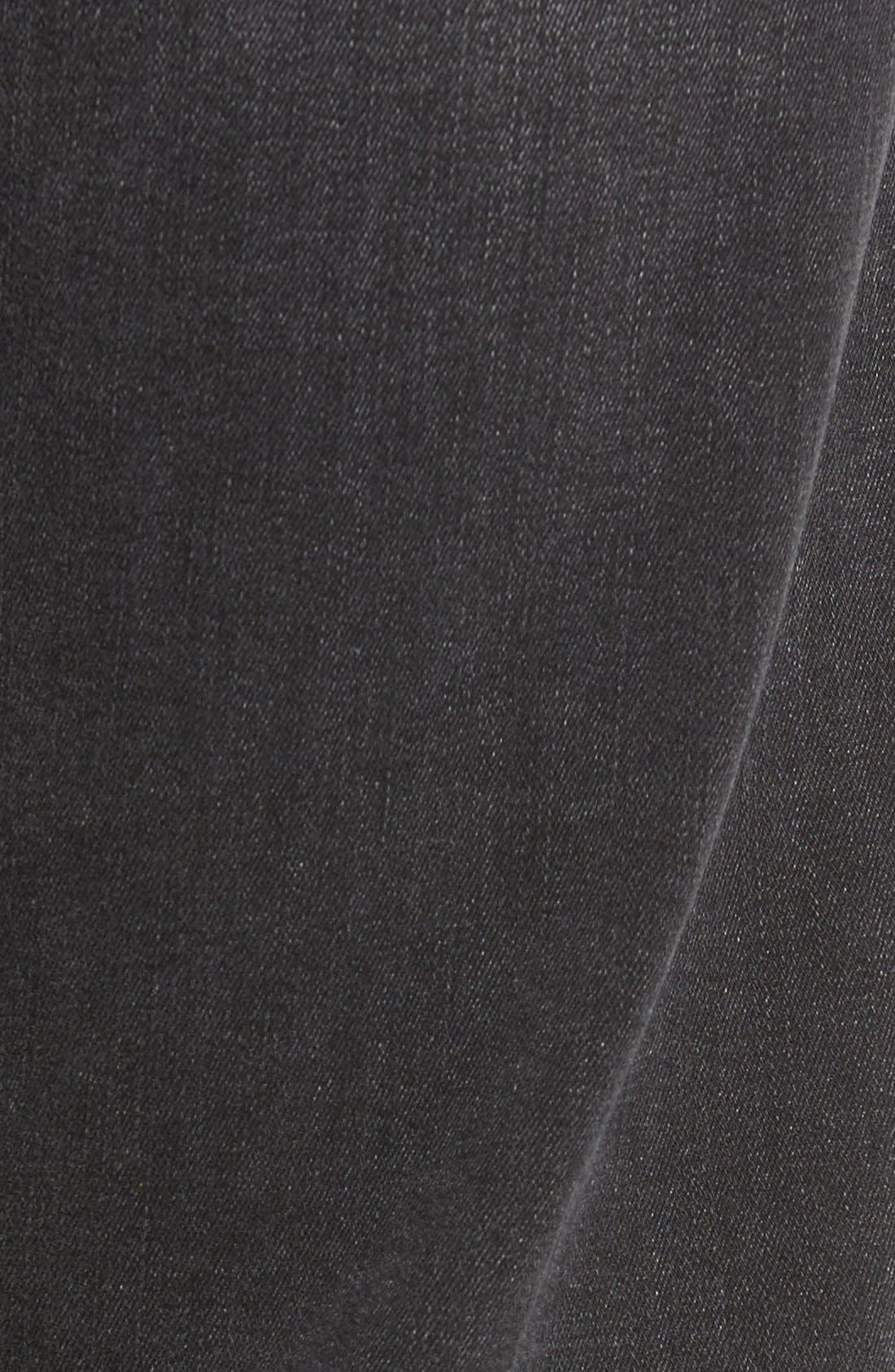 'Courage' Straight Leg Jeans,                             Alternate thumbnail 5, color,                             Courage Coal Soft