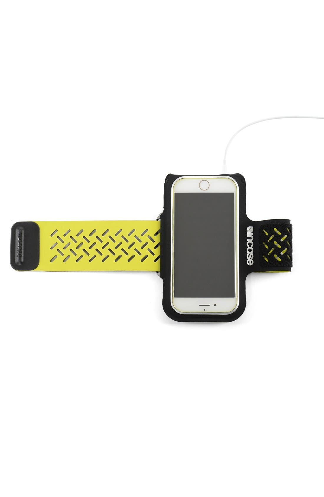 iPhone 6/6s Armband,                             Alternate thumbnail 5, color,                             Black/ Lumen
