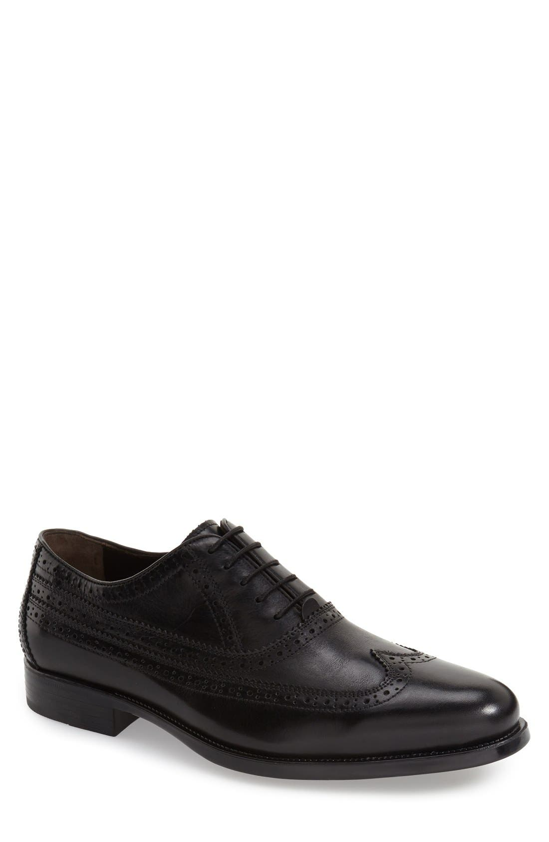 Alternate Image 1 Selected - Johnston & Murphy 'Duvall' Wingtip (Men)