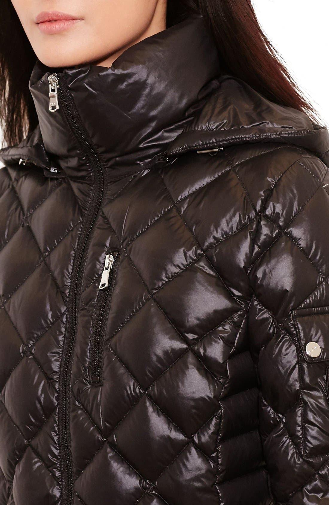Alternate Image 3  - Lauren Ralph Lauren Packable Quilted Down Coat