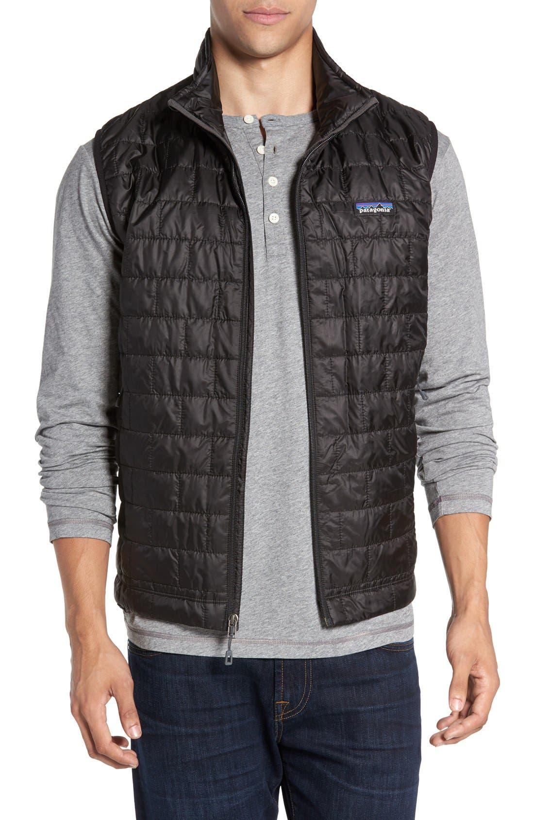 Nano Puff<sup>®</sup> Vest,                         Main,                         color, Black