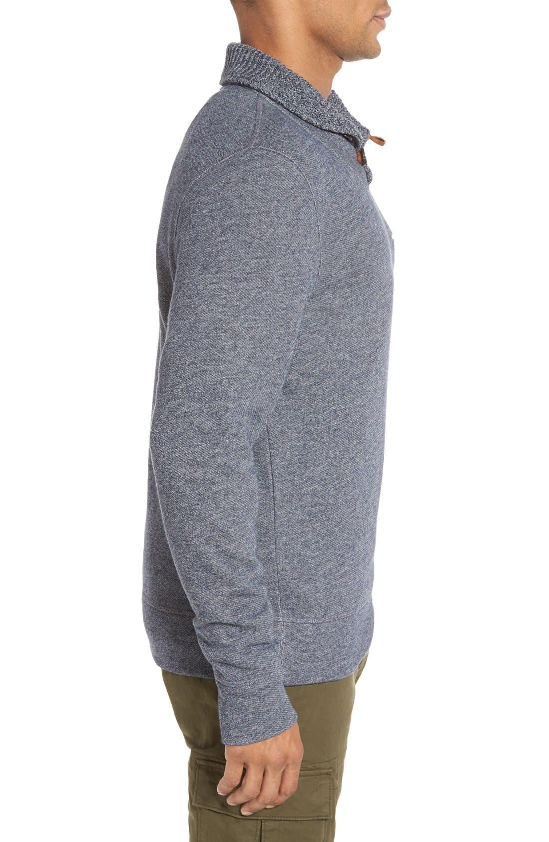 Alternate Image 3  - Billy Reid 'Shiloh' Shawl Collar Sweatshirt