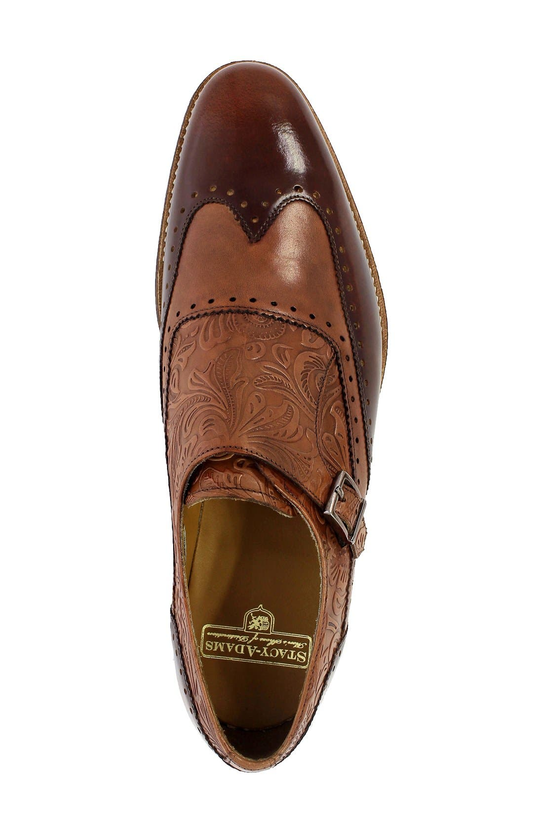Alternate Image 3  - Stacy Adams Madison II Monk Strap Shoe (Men)
