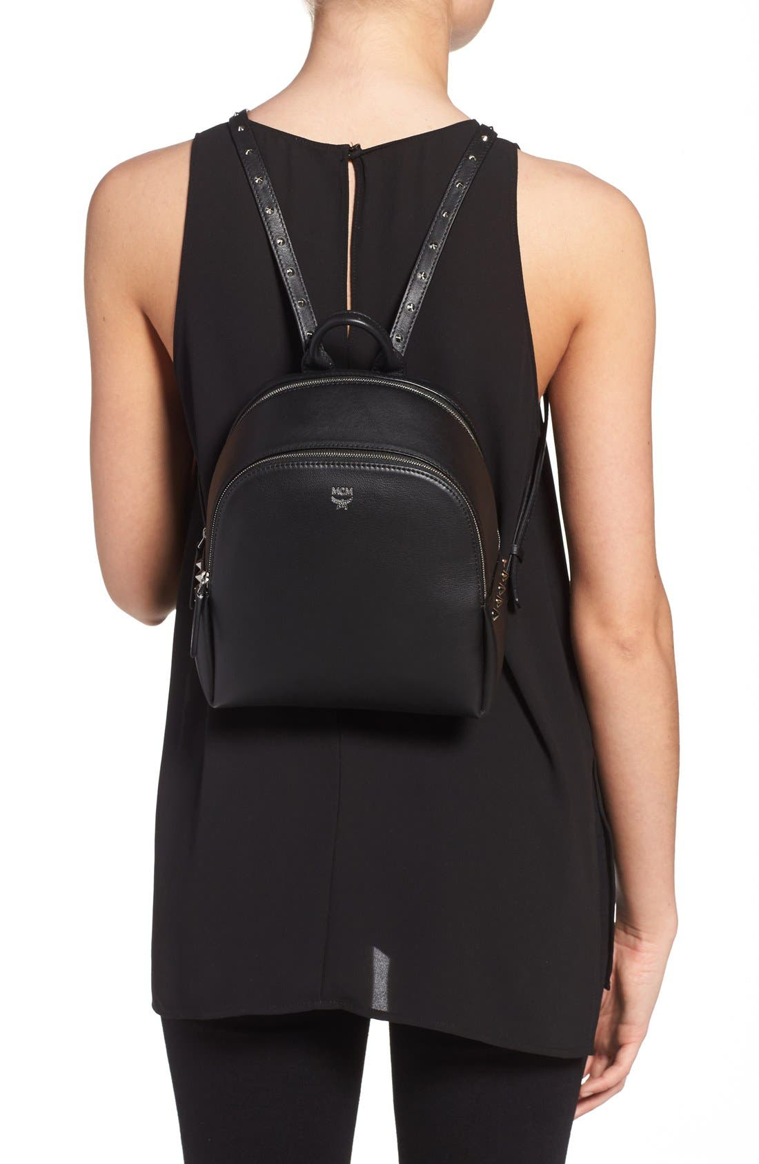 Alternate Image 2  - MCM 'Mini Duchess' Leather Backpack