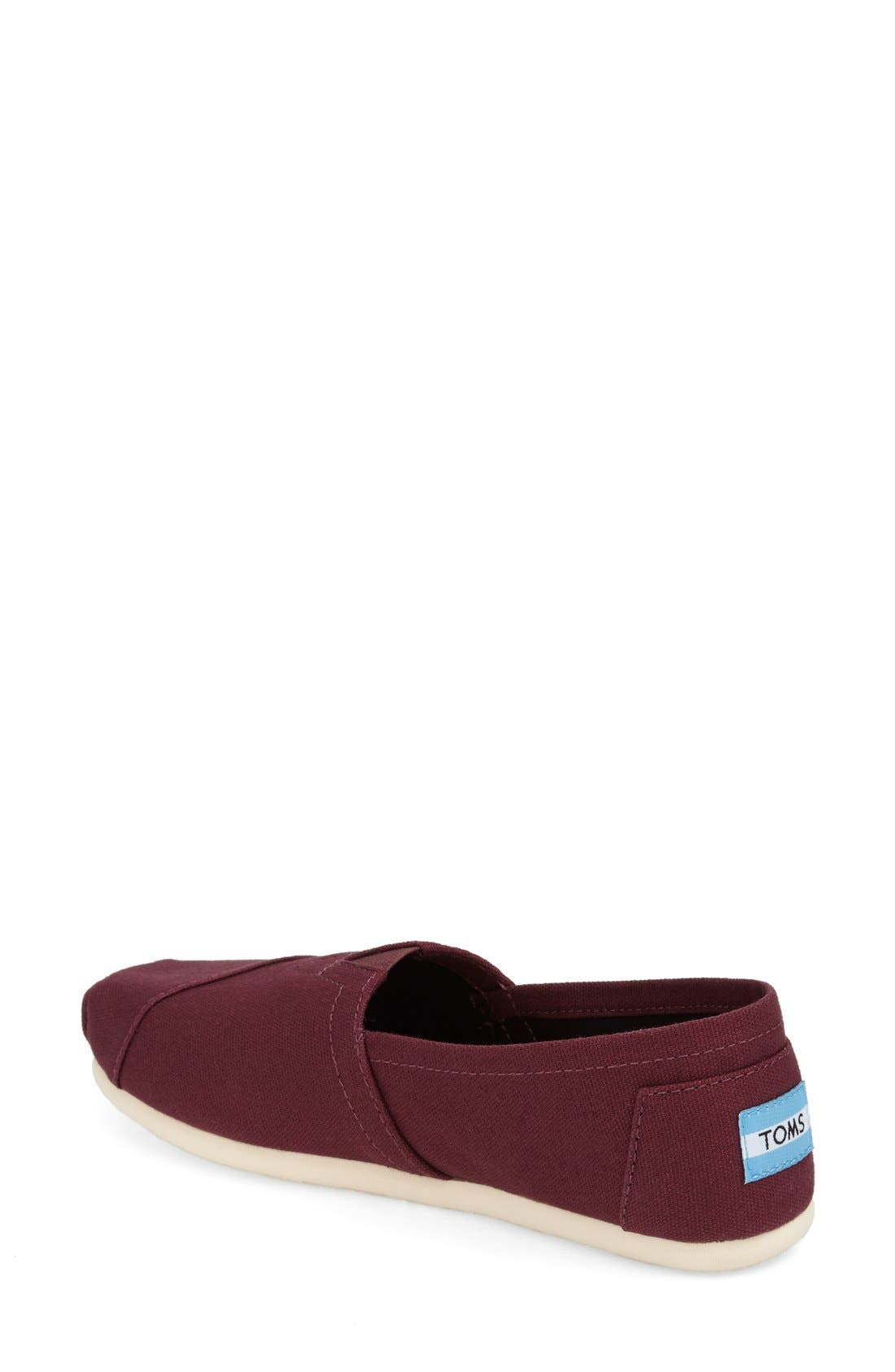 Alternate Image 2  - TOMS Classic Slip-On (Women)