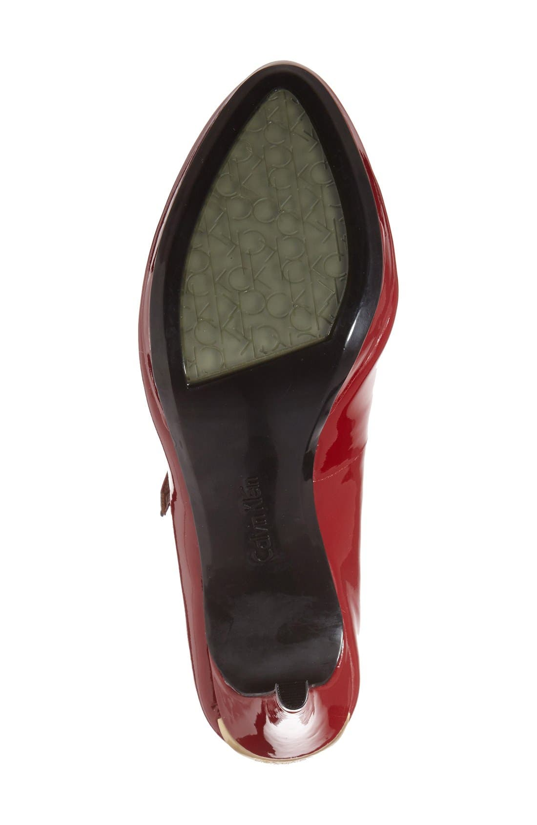 Alternate Image 4  - Calvin Klein 'Paislie' Mary Jane Pump (Women)