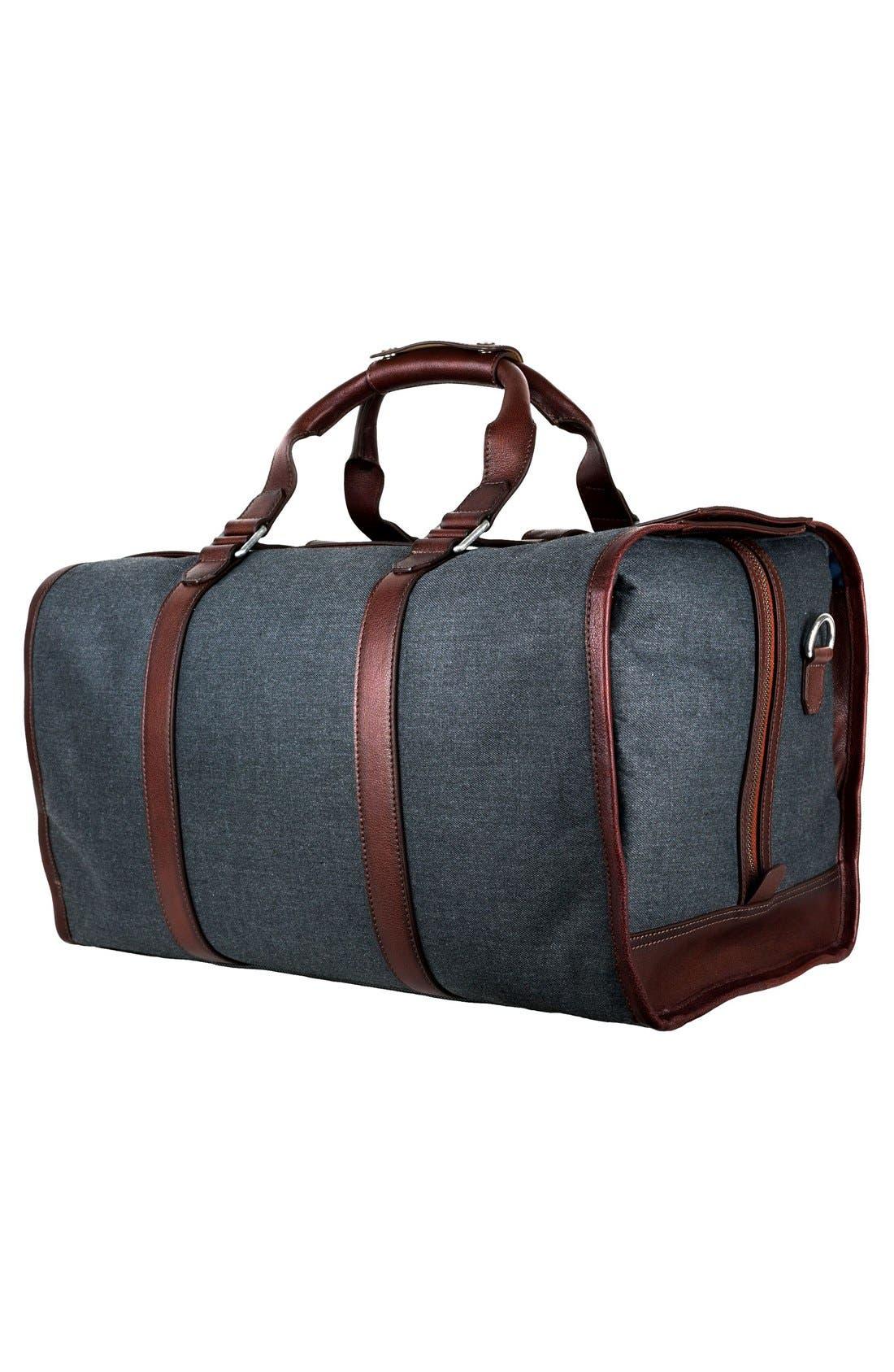 'Grafton' Duffel Bag,                             Alternate thumbnail 2, color,                             Grey