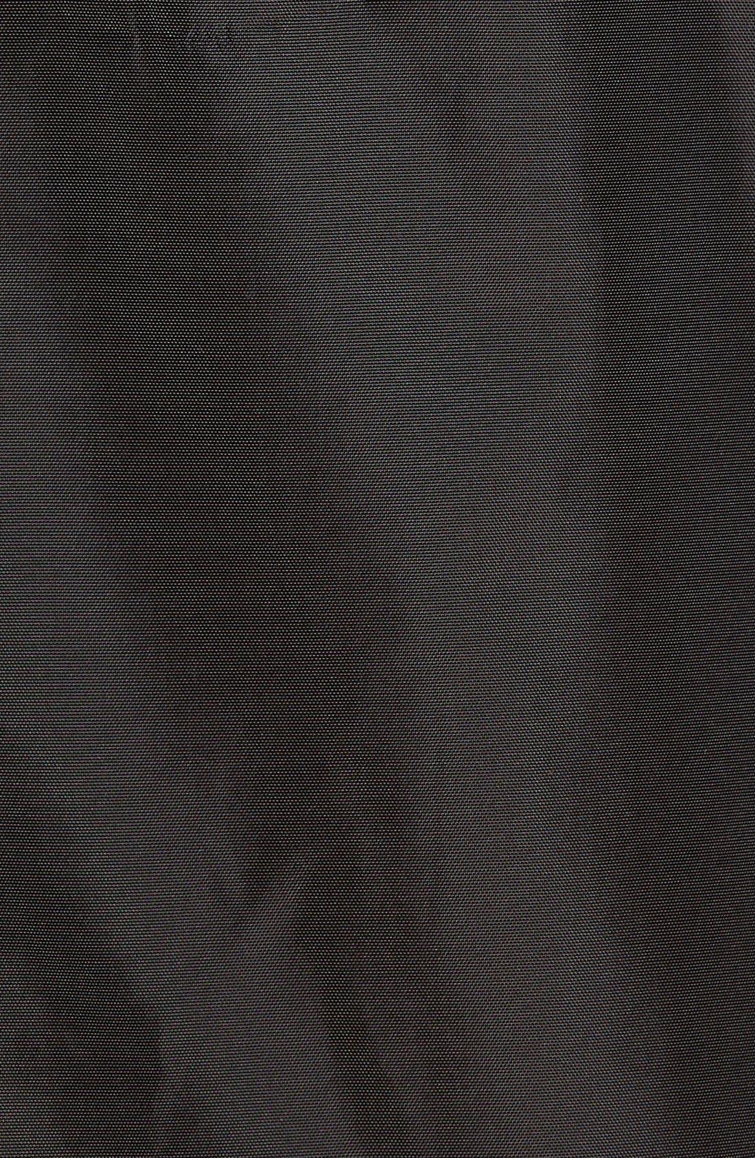 'Claxton' Water Repellent Windbreaker,                             Alternate thumbnail 5, color,                             Black