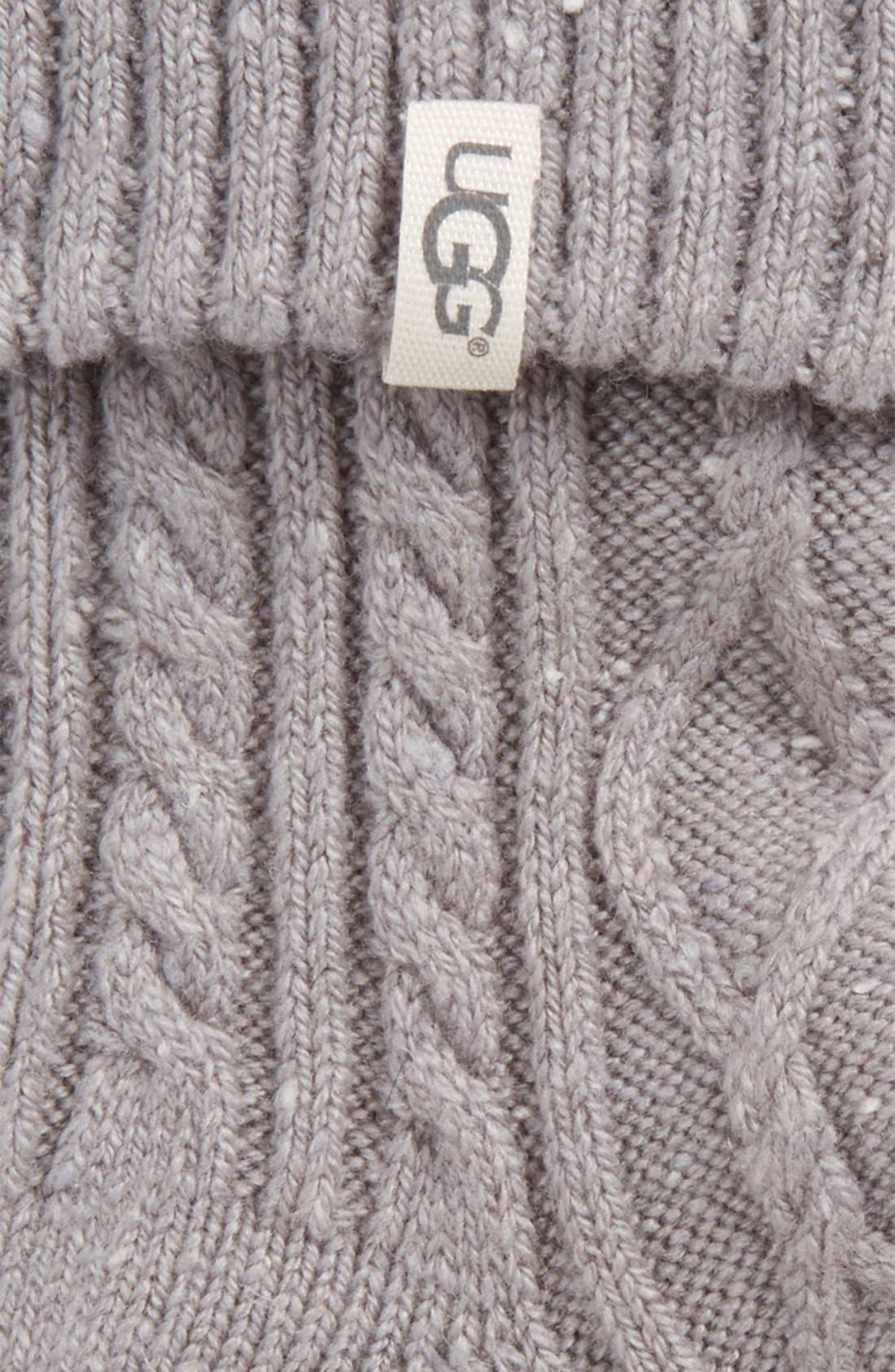 Alternate Image 2  - UGG® 'Sienna' Short Boot Sock