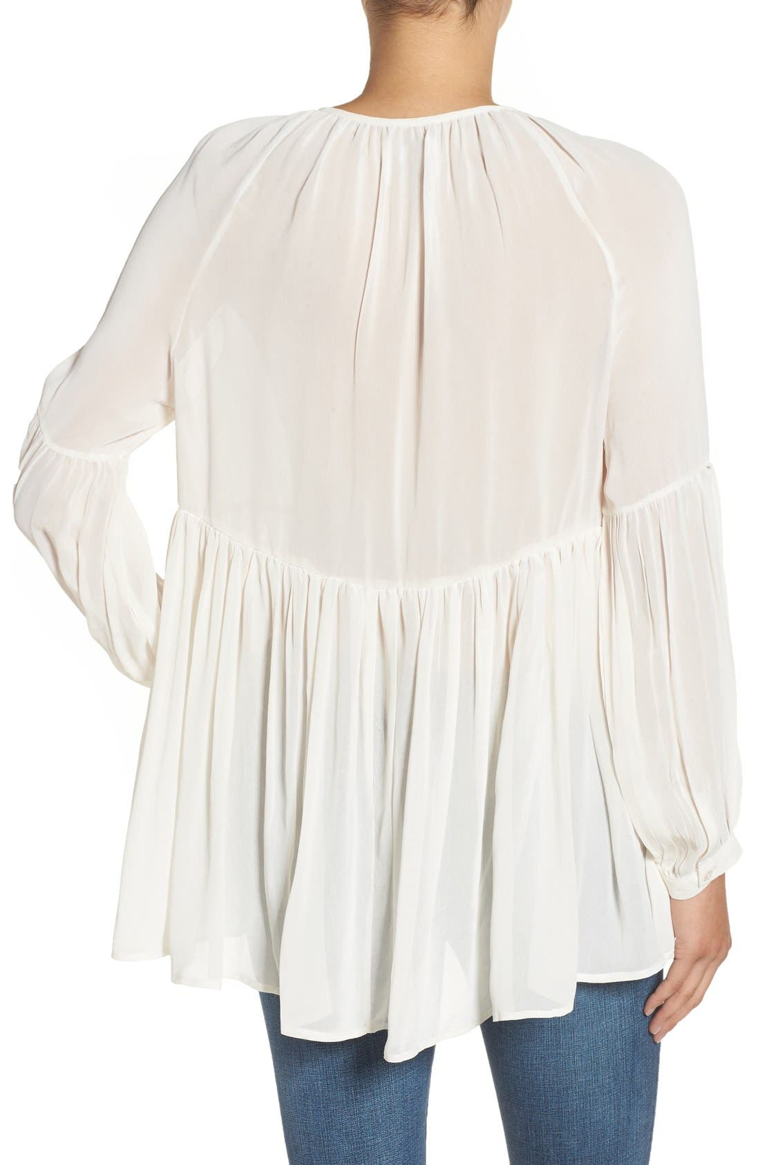 Alternate Image 2  - Sincerely Jules 'Cameron' Chiffon Blouse