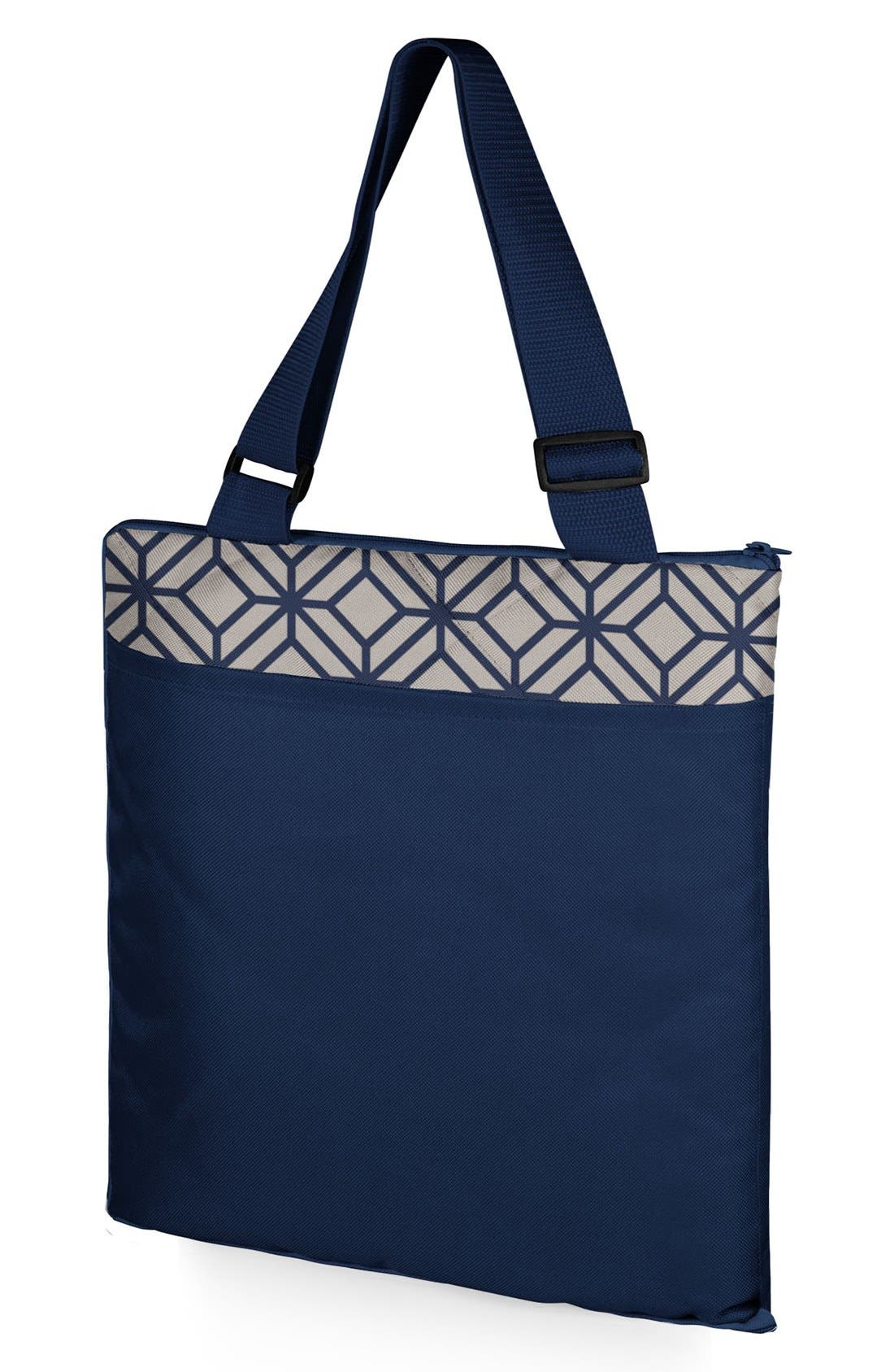 'Vista XL' Fold-Up Blanket Tote,                             Alternate thumbnail 3, color,                             Blue