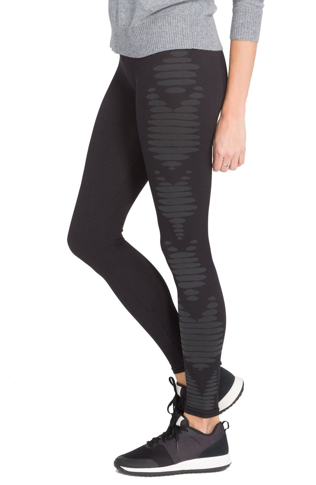 Alternate Image 3  - SPANX® 'Aztec Stripe' Leggings