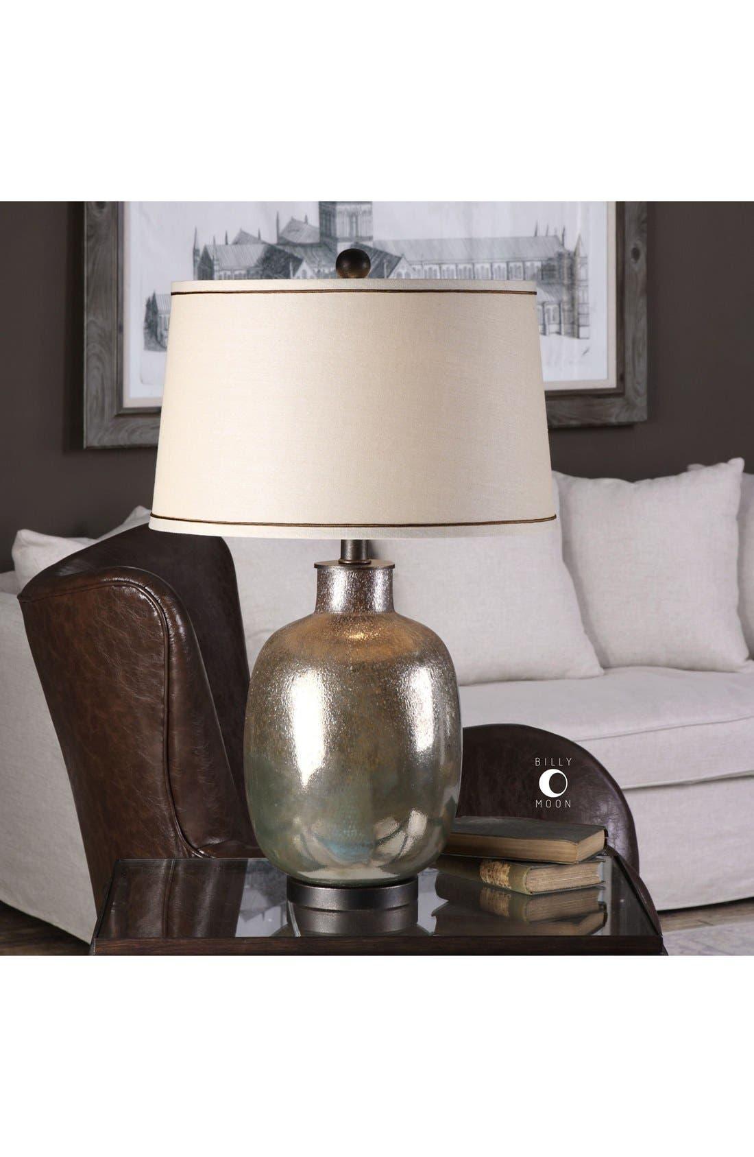 Glazed Glass Table Lamp,                             Alternate thumbnail 2, color,                             Grey