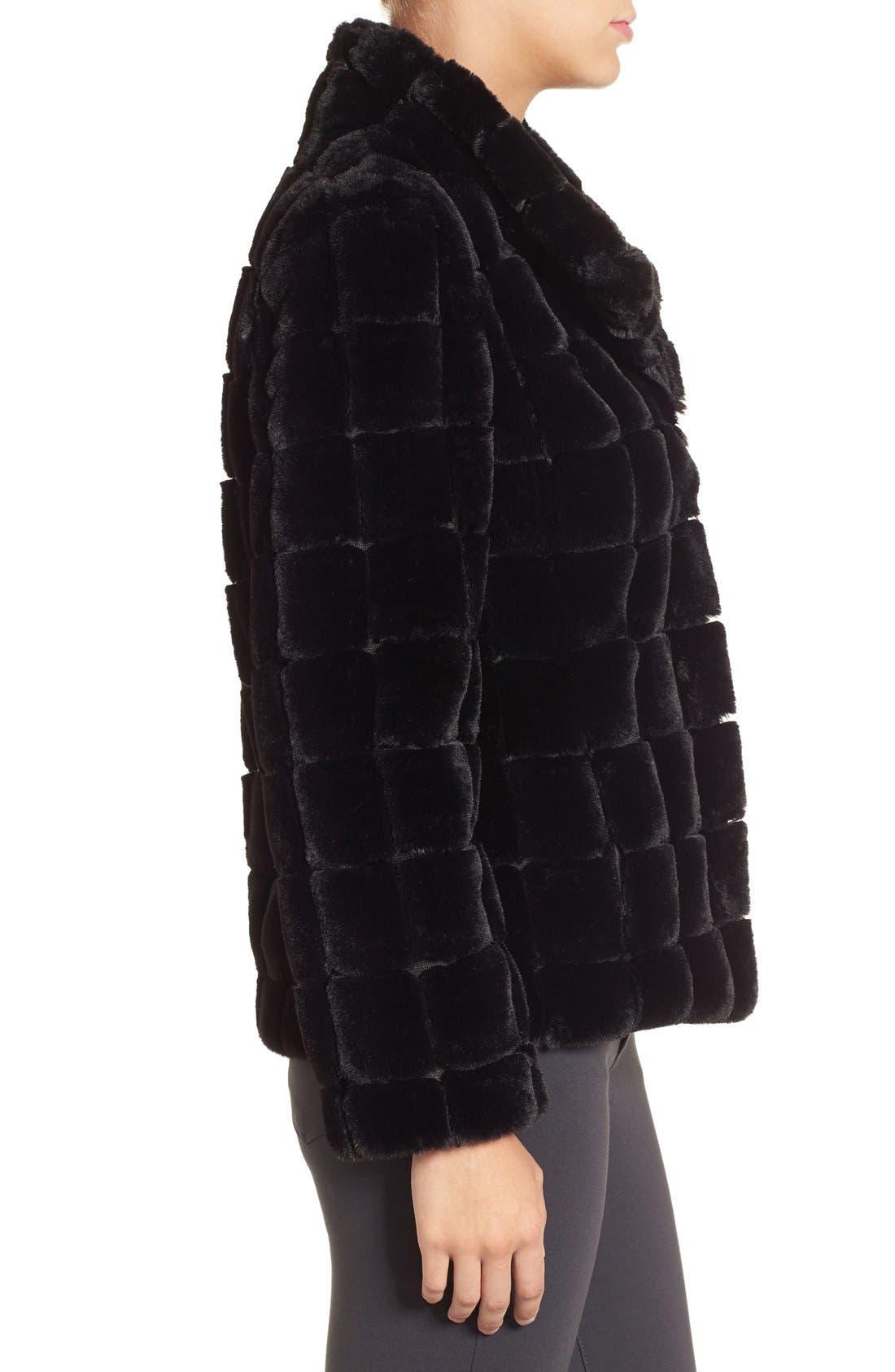 Alternate Image 3  - Kristen Blake Faux Fur Jacket
