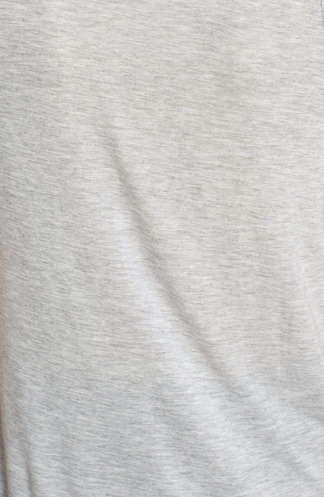'Sweetheart' Modal Tank,                             Alternate thumbnail 5, color,                             Heather Grey