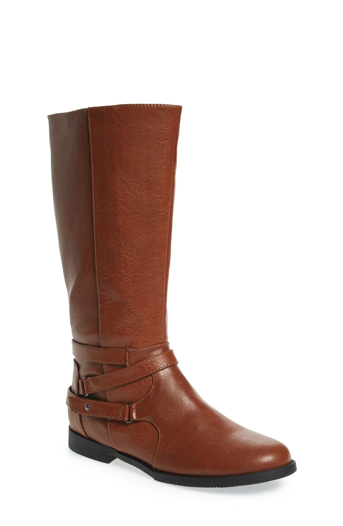 Main Image - Kenneth Cole New York 'Kennedy' Riding Boot (Toddler, Little Kid & Big Kid)