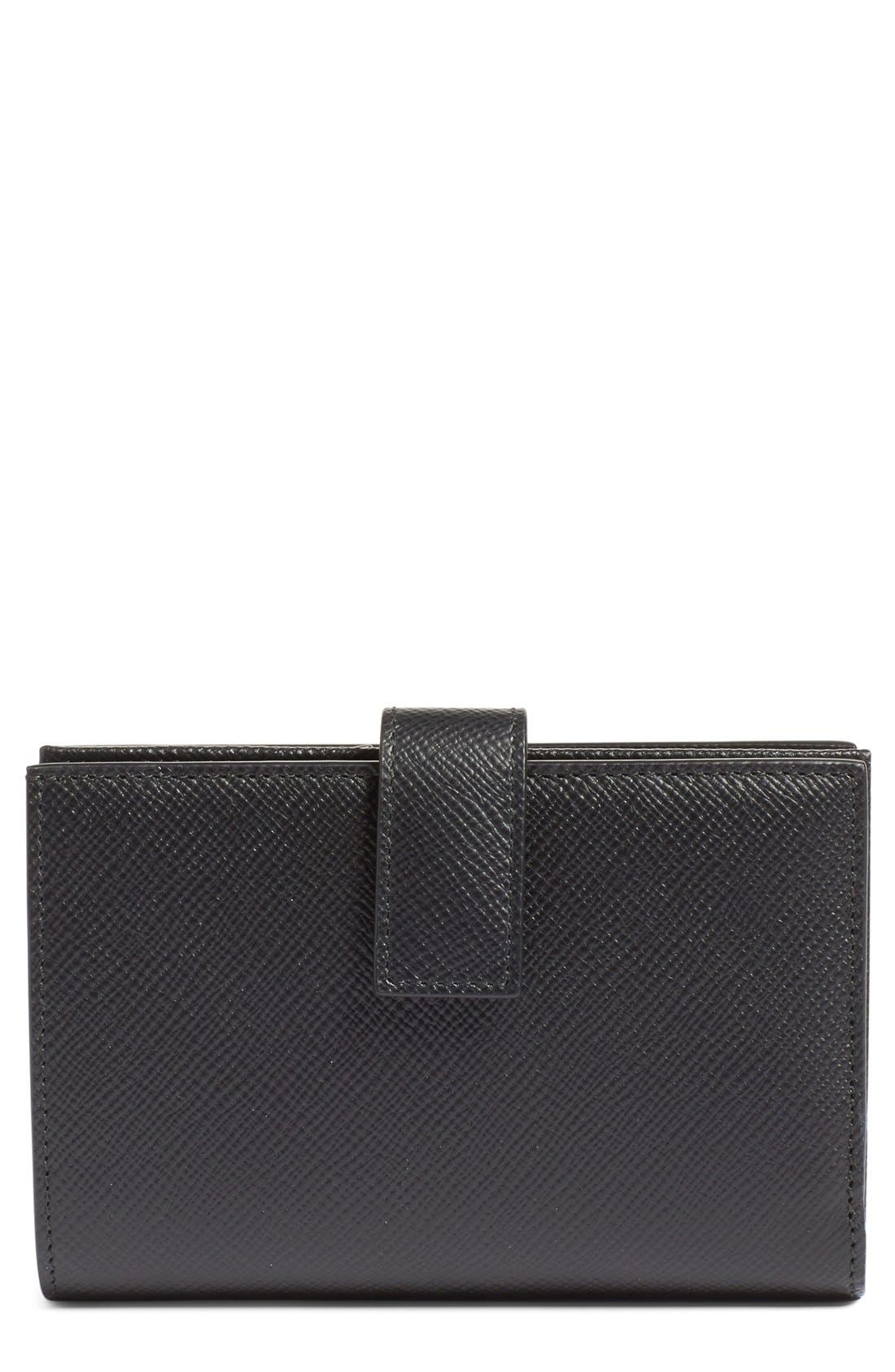 Smythson 'Medium' Continental Wallet