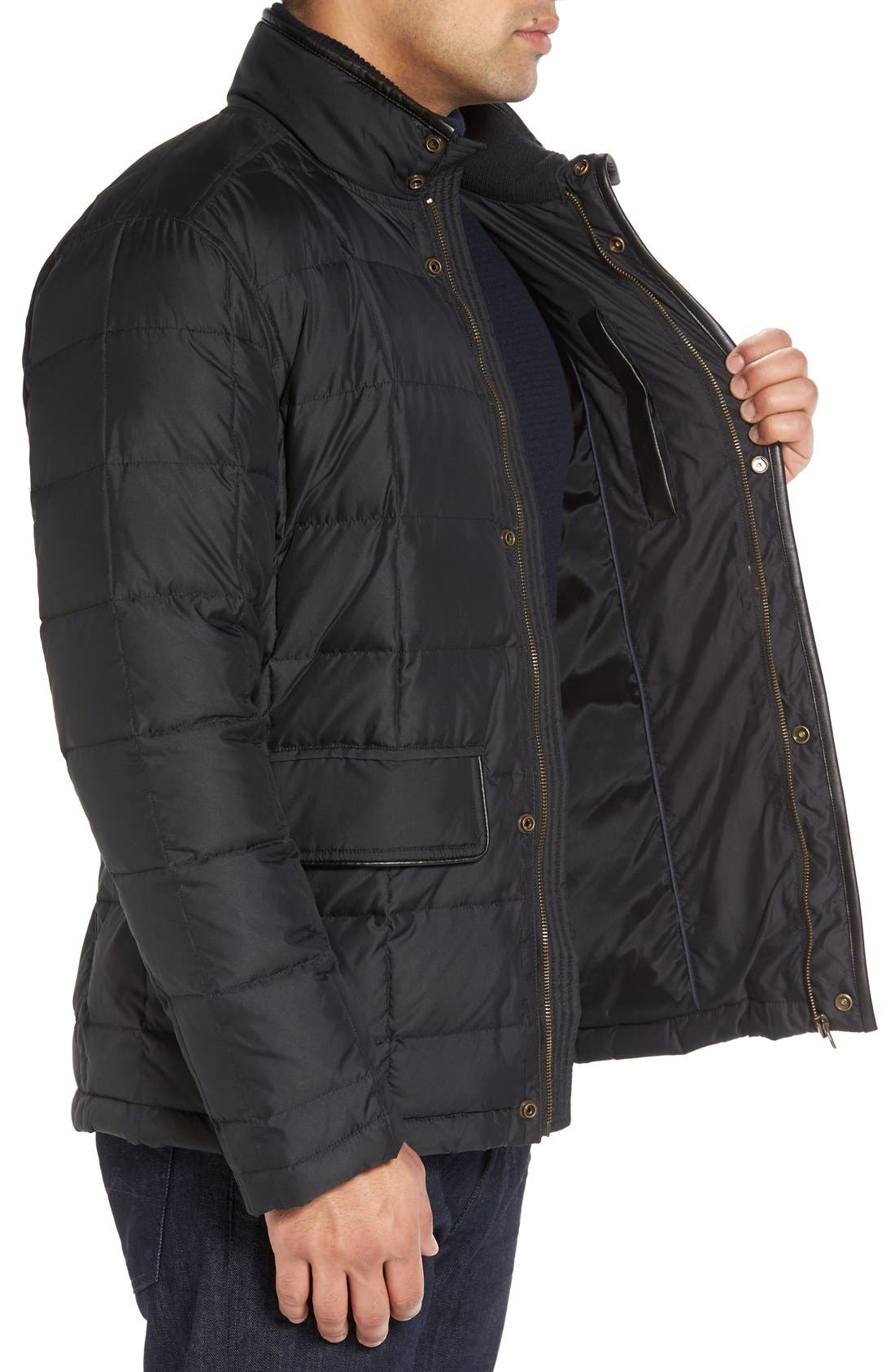 Alternate Image 3  - Cole Haan Box Quilted Jacket