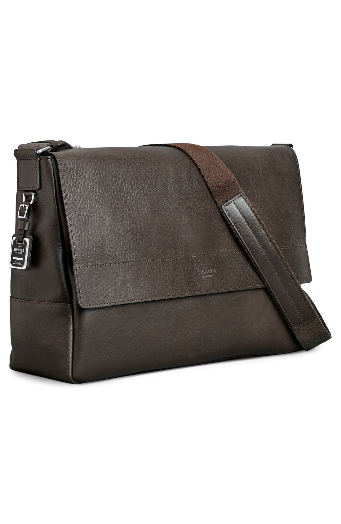 Alternate Image 4  - Shinola East/West Messenger Bag